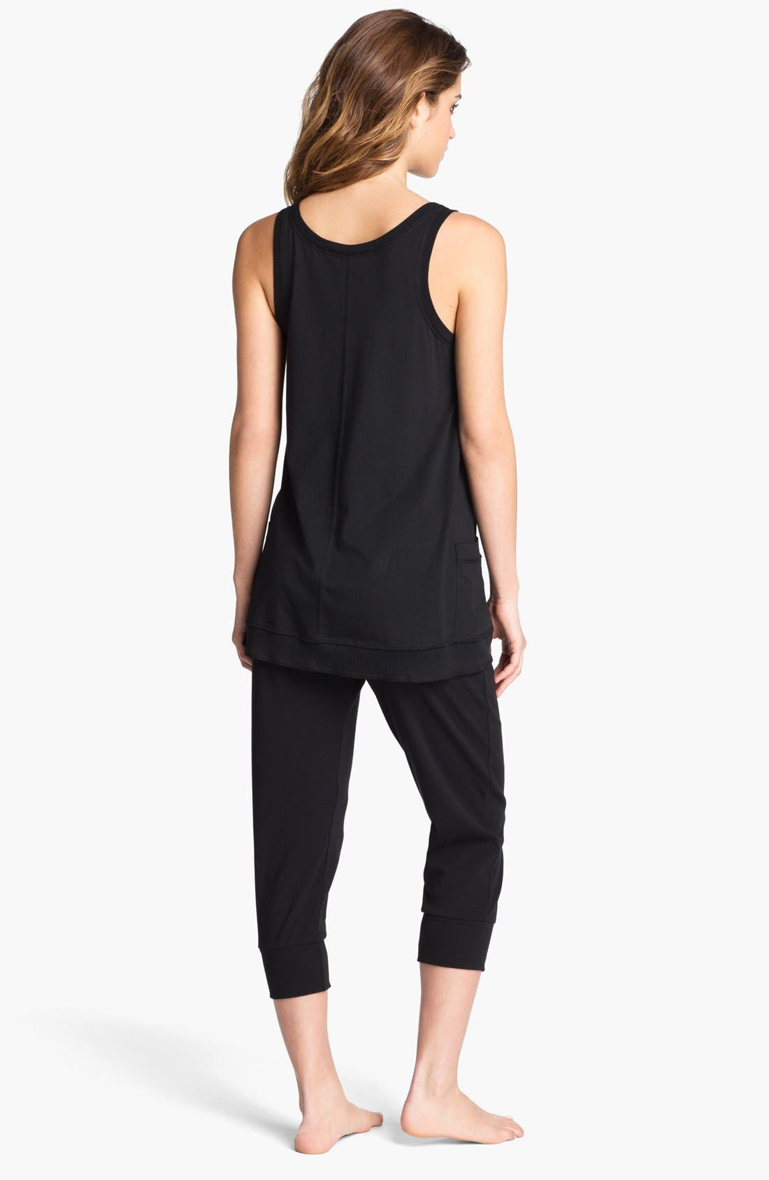 Alternate Image 4  - Donna Karan 'Casual Luxe' Lounge Top