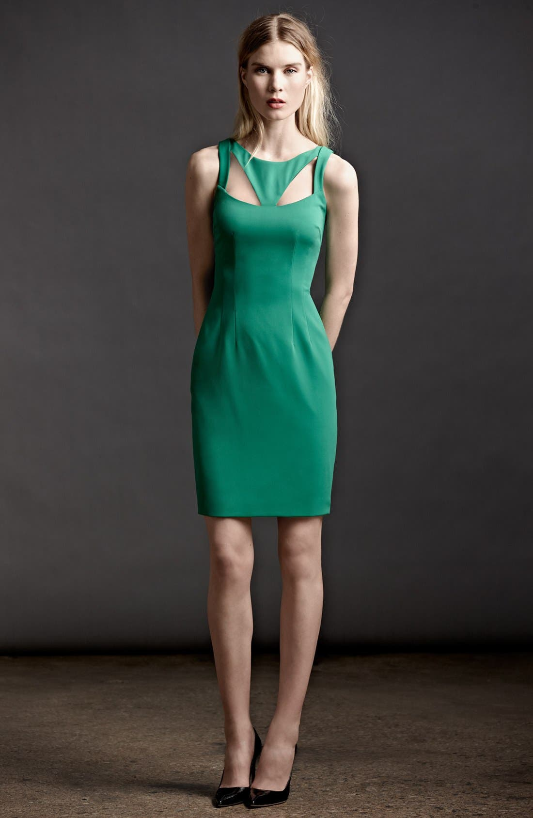 Alternate Image 4  - Jay Godfrey 'Sahar' Cutout Sheath Dress (Nordstrom Exclusive)