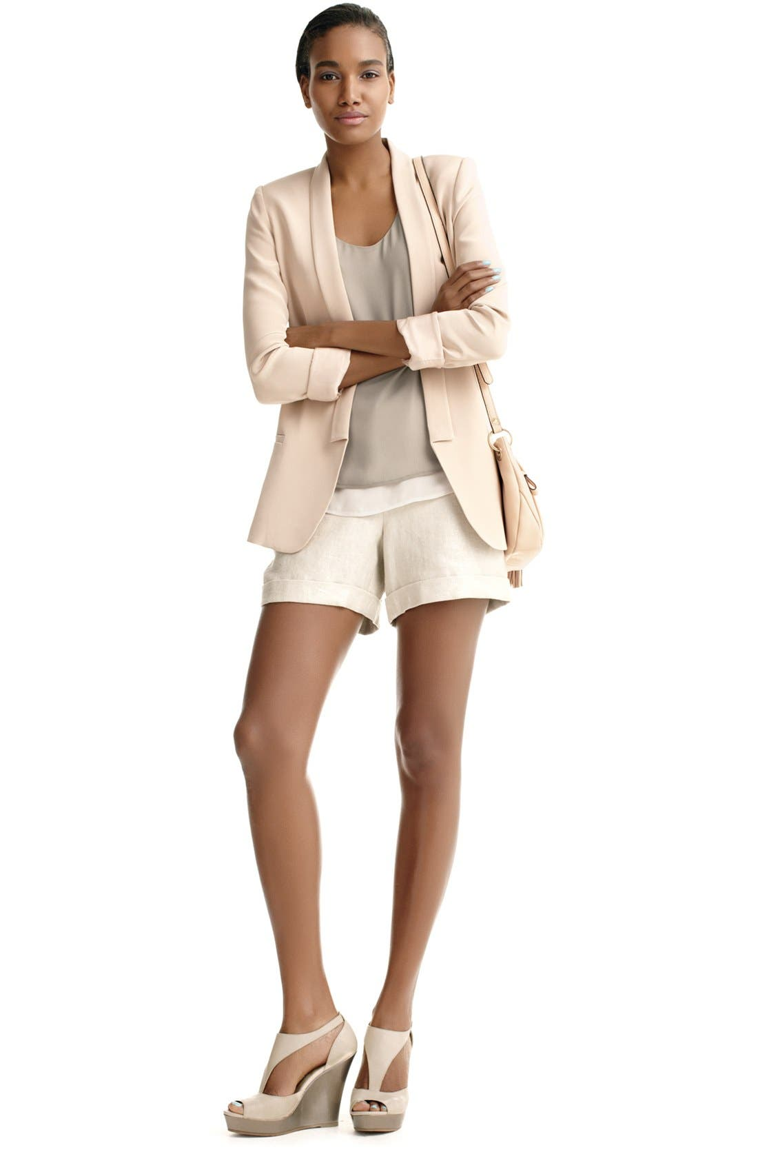 Alternate Image 1 Selected - Truth and Pride Blazer, Halogen Tank & Vince Camuto Shorts