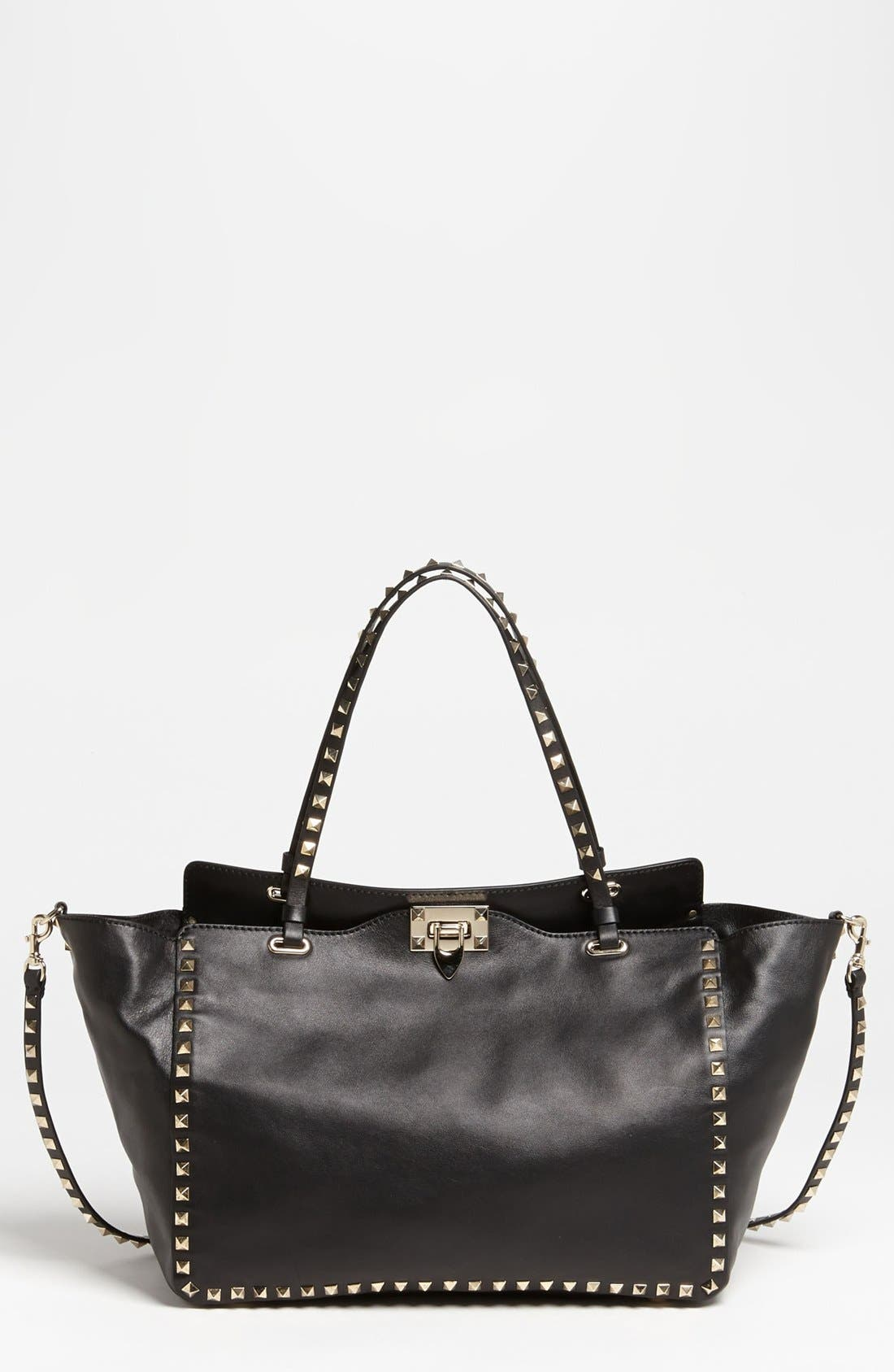 Alternate Image 1 Selected - Valentino 'Rockstud - Classic' Double Handle Tote
