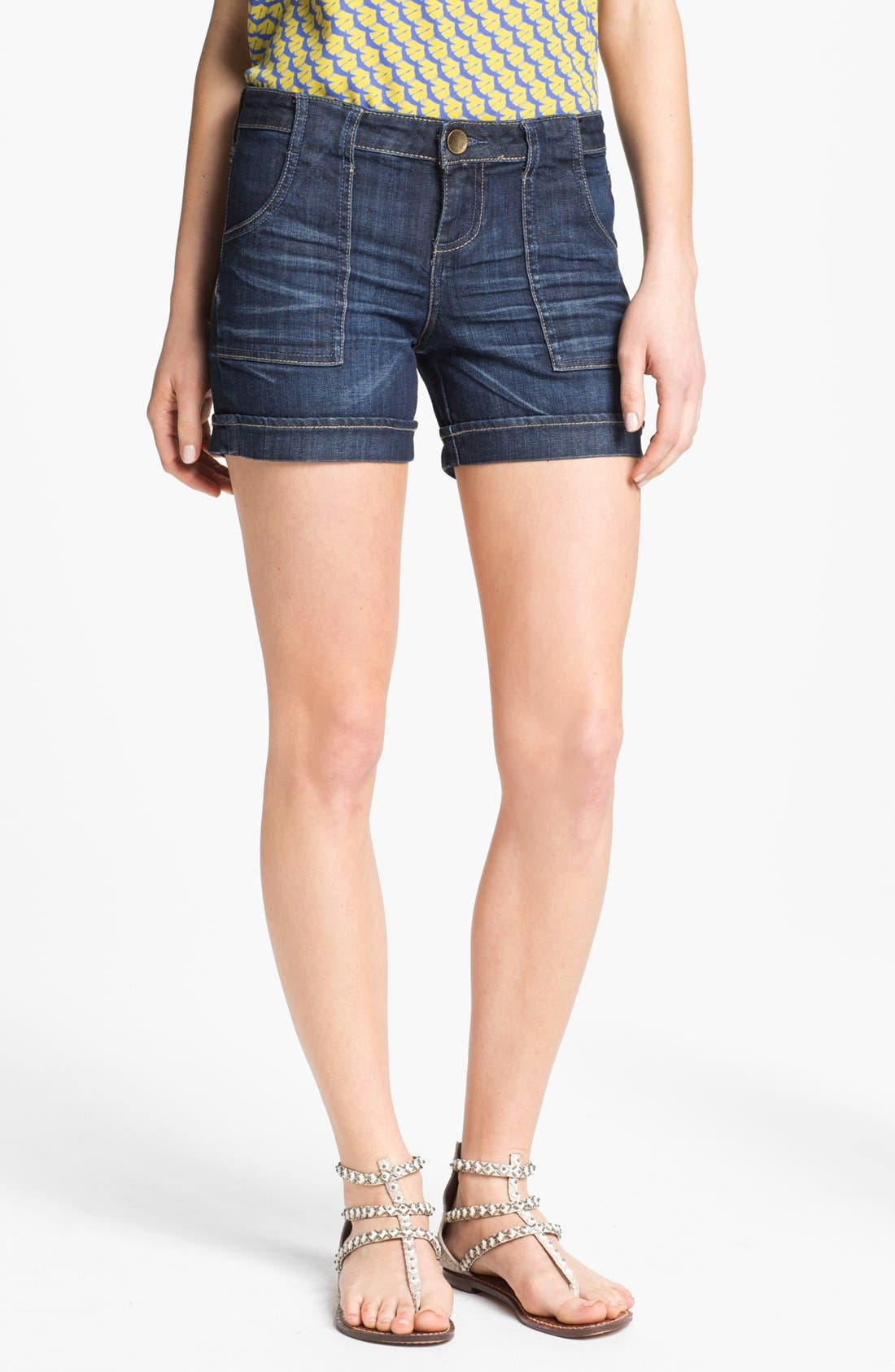 Main Image - KUT from the Kloth Cuff Denim Shorts