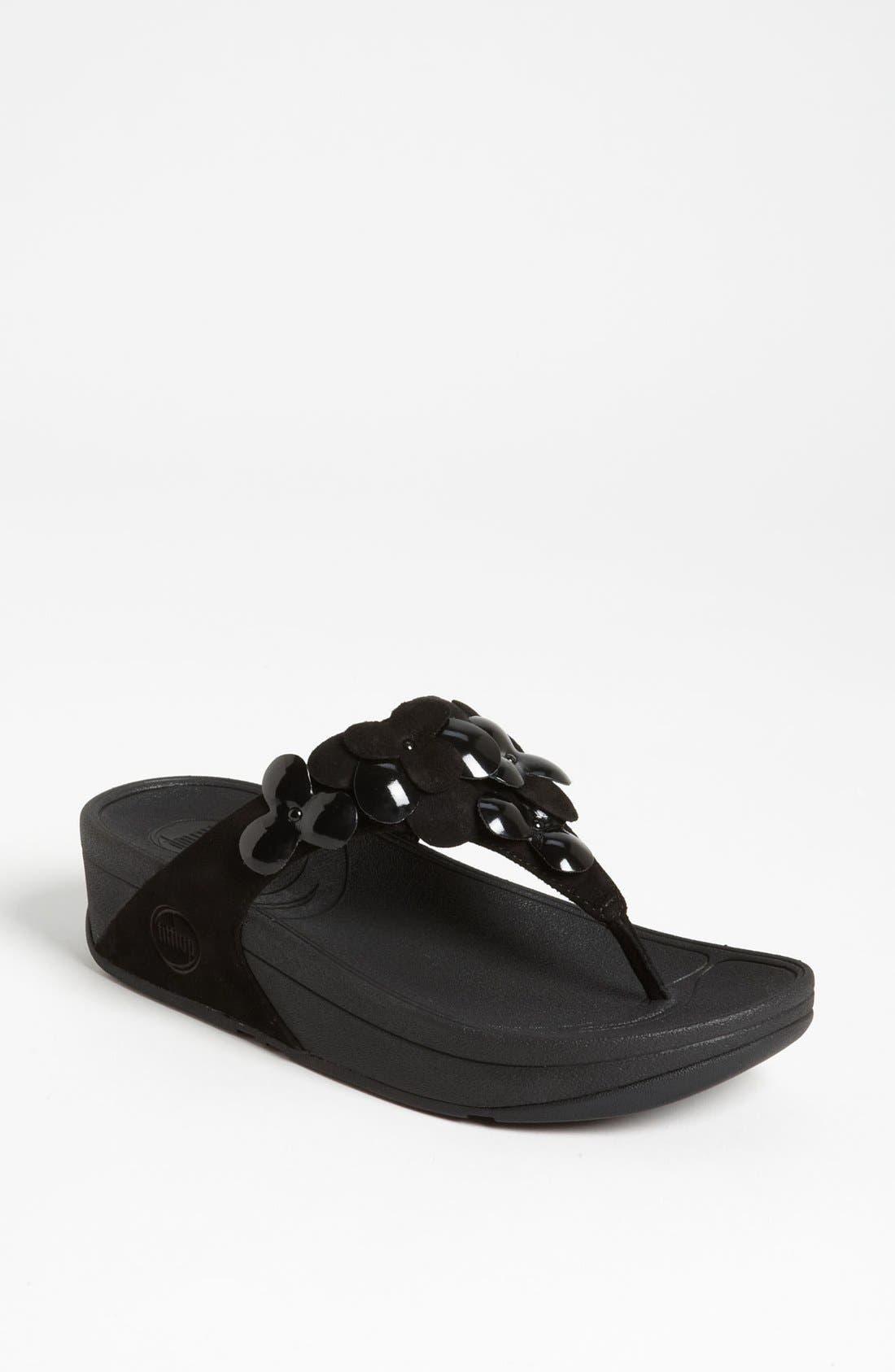Alternate Image 1 Selected - FitFlop 'Fleur' Sandal