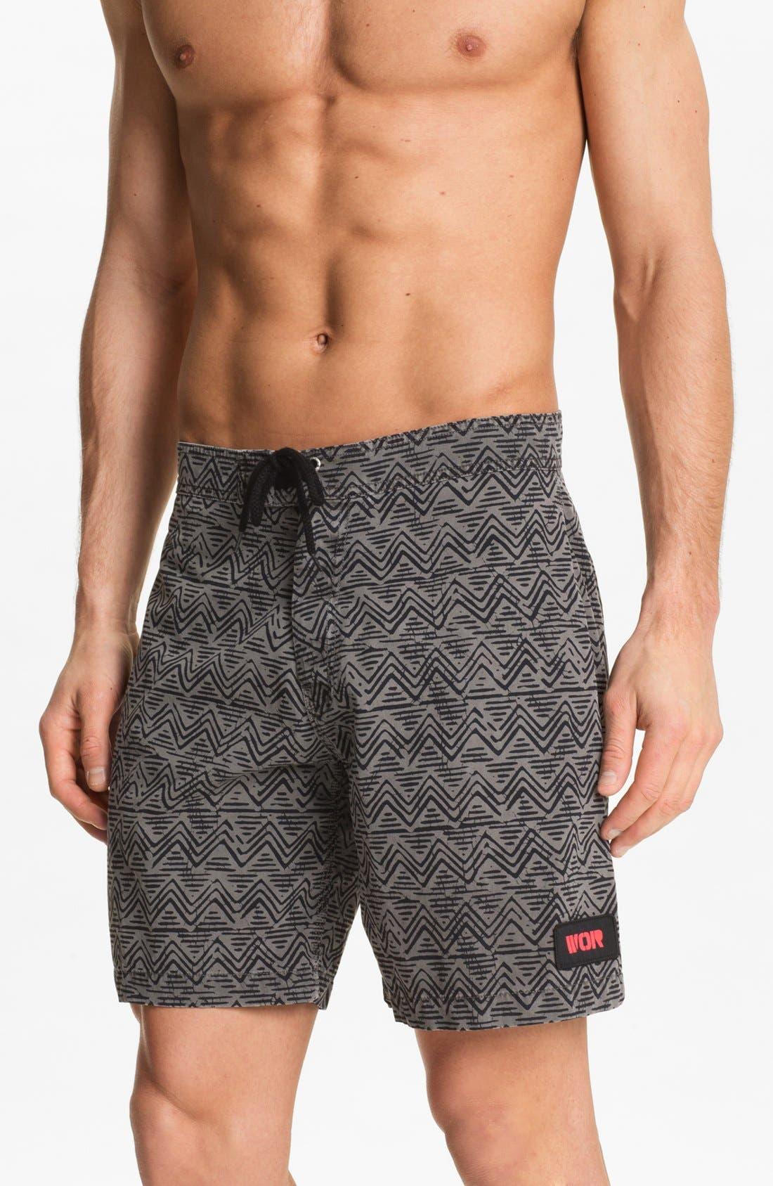 Alternate Image 1 Selected - Warriors of Radness 'Crucial Batik' Shorts