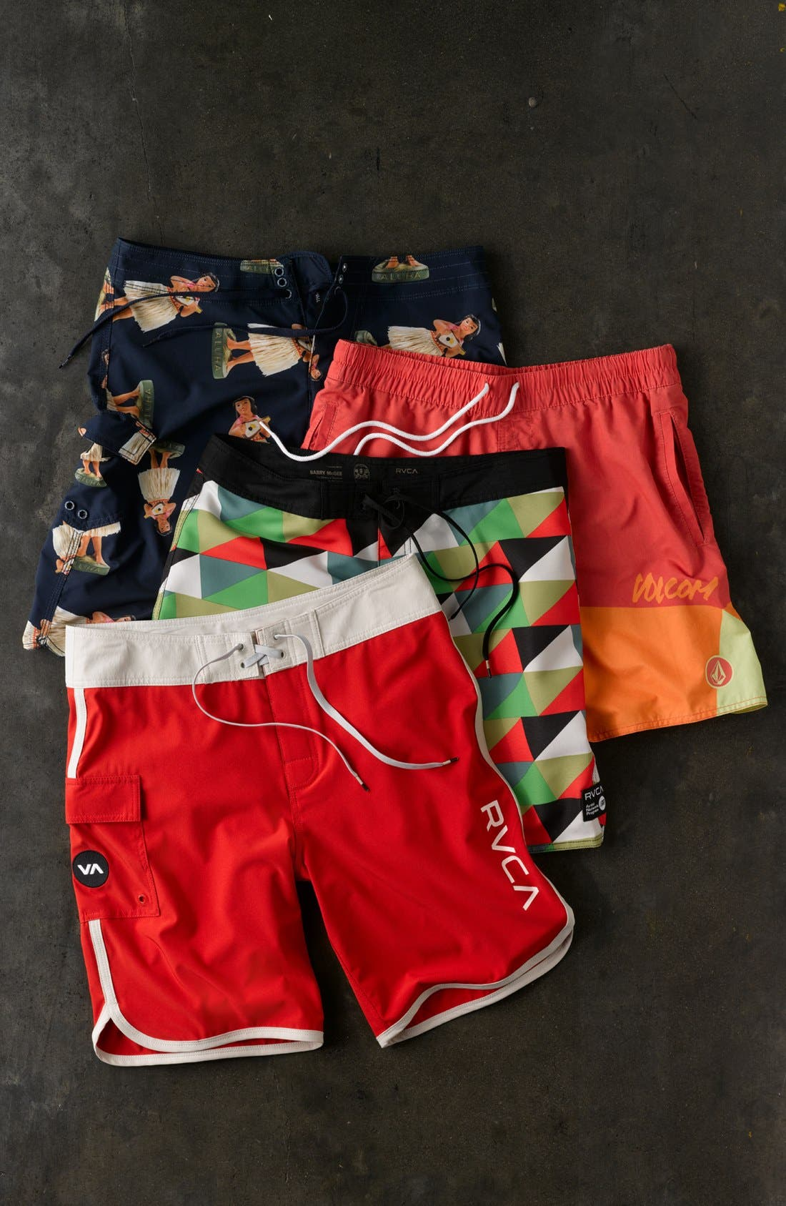 Alternate Image 4  - RVCA 'Barry McGee' Board Shorts