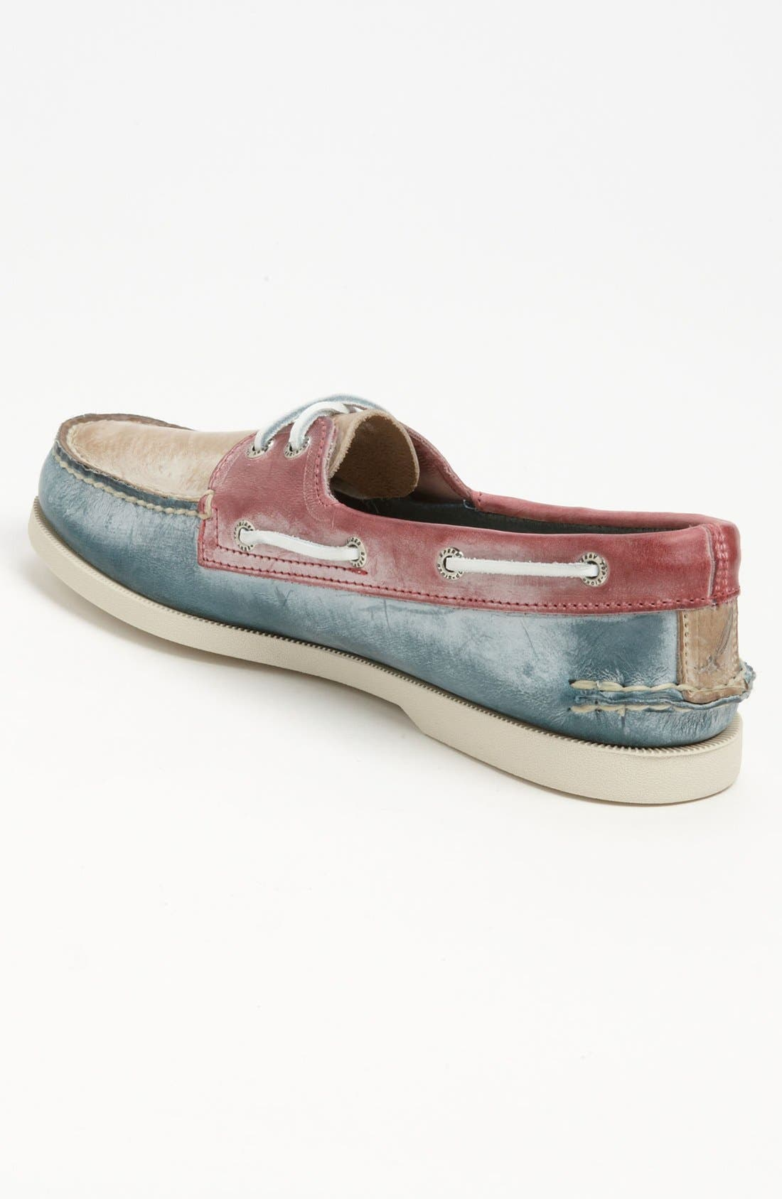 Alternate Image 2  - Sperry Top-Sider® 'Authentic Original - White Wash' Boat Shoe (Men)