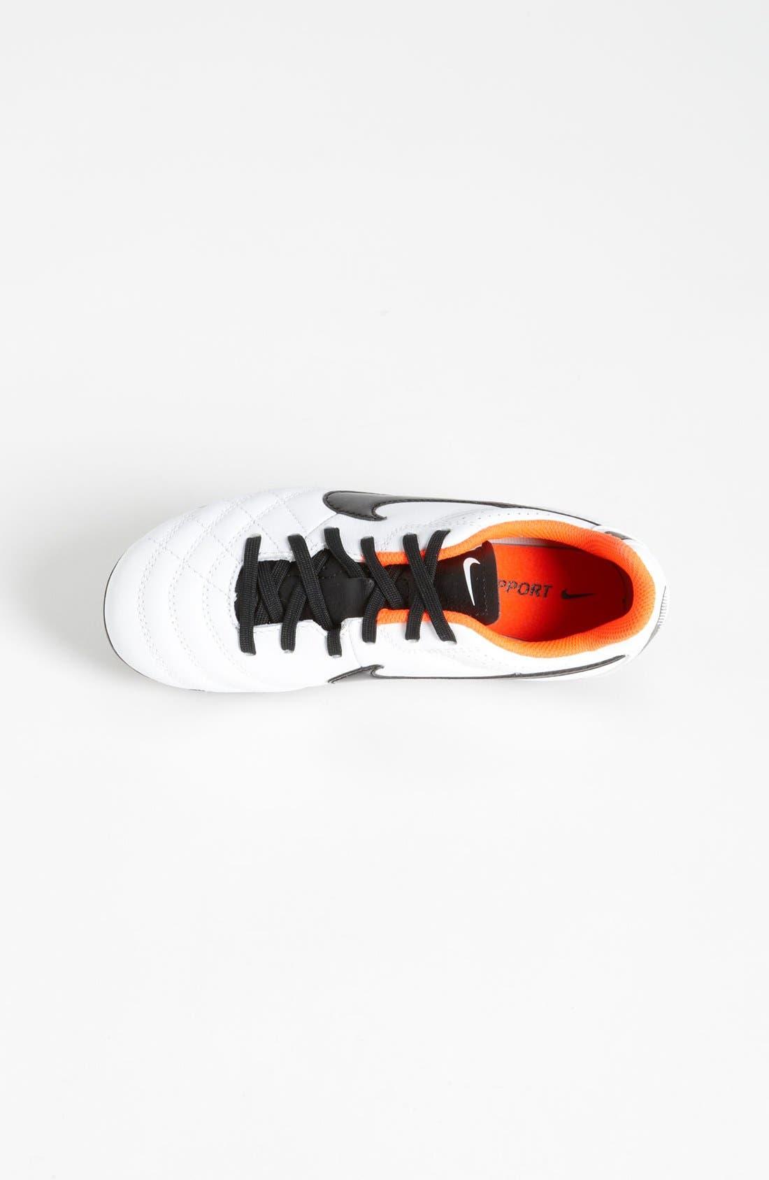 Alternate Image 3  - Nike 'Tiempo Natural IV Jr.' Soccer Shoe (Little Kid & Big Kid)