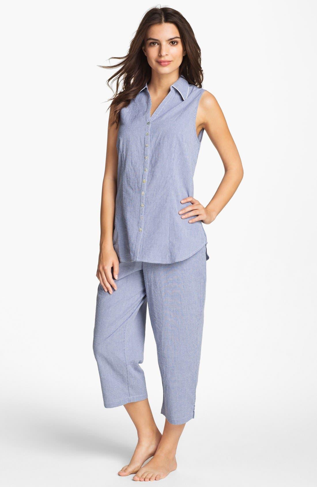 Main Image - Eileen West 'Starfish Cove' Pajamas