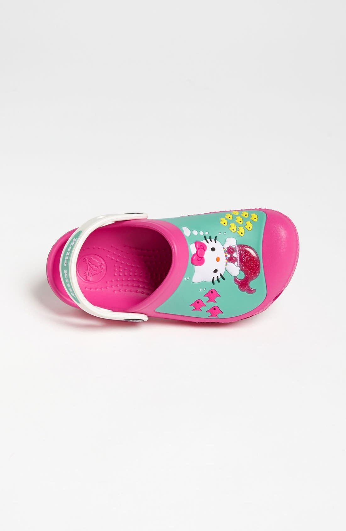 Alternate Image 3  - CROCS™ 'Hello Kitty™' Slip-On (Walker & Toddler)