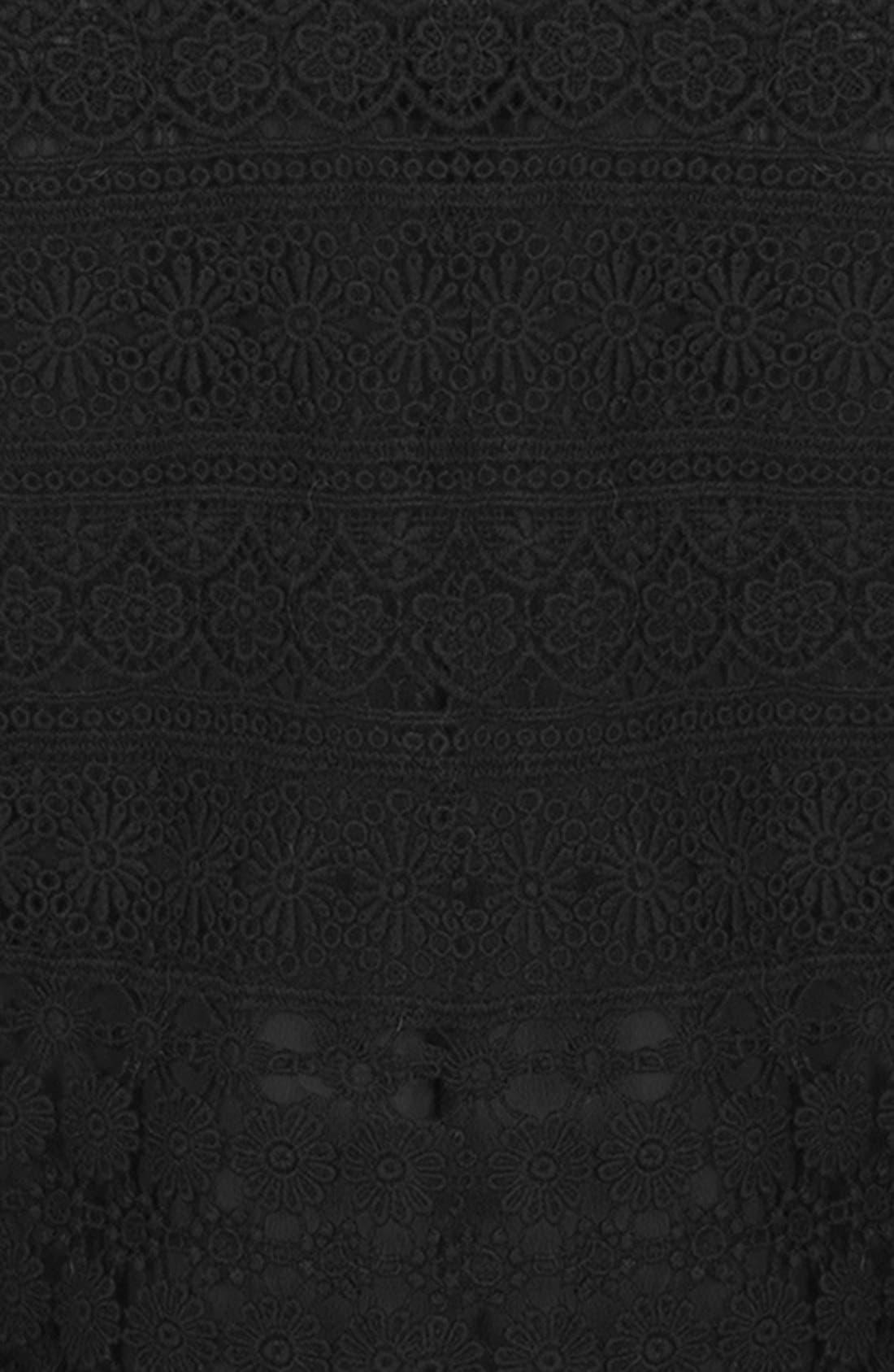 Alternate Image 4  - Topshop Daisy Crochet Tank