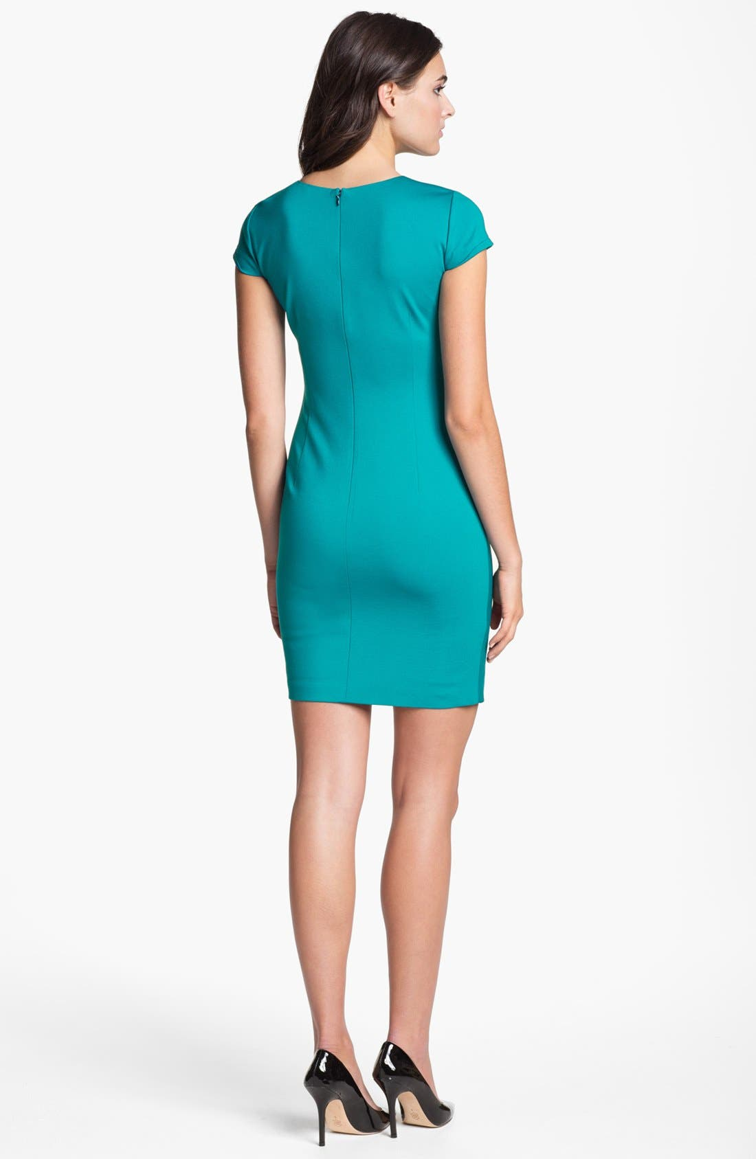 Alternate Image 2  - Elie Tahari 'Toni' Side Pleat Sheath Dress