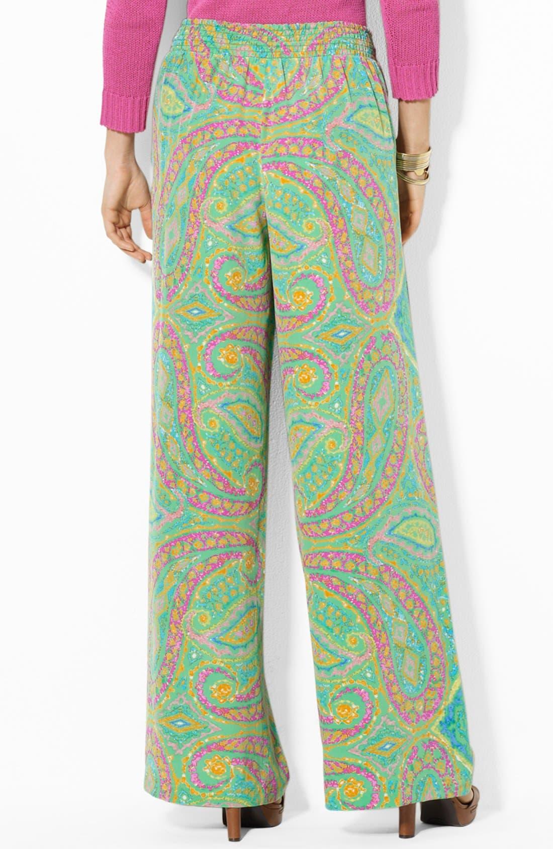 Alternate Image 2  - Lauren Ralph Lauren Wide Leg Pants