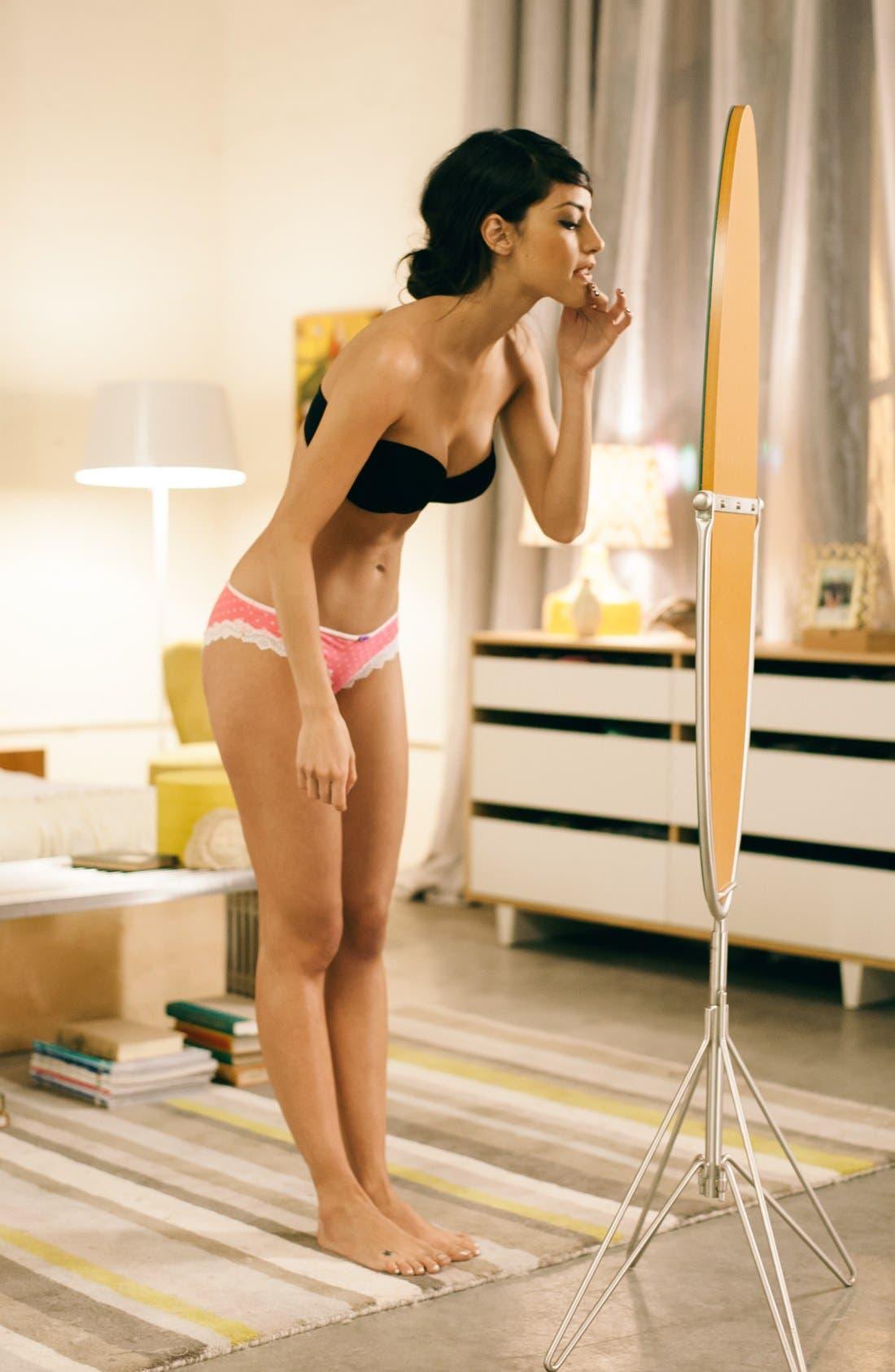 Alternate Image 3  - Calvin Klein 'Naked Glamour' Convertible Strapless Push-Up Bra
