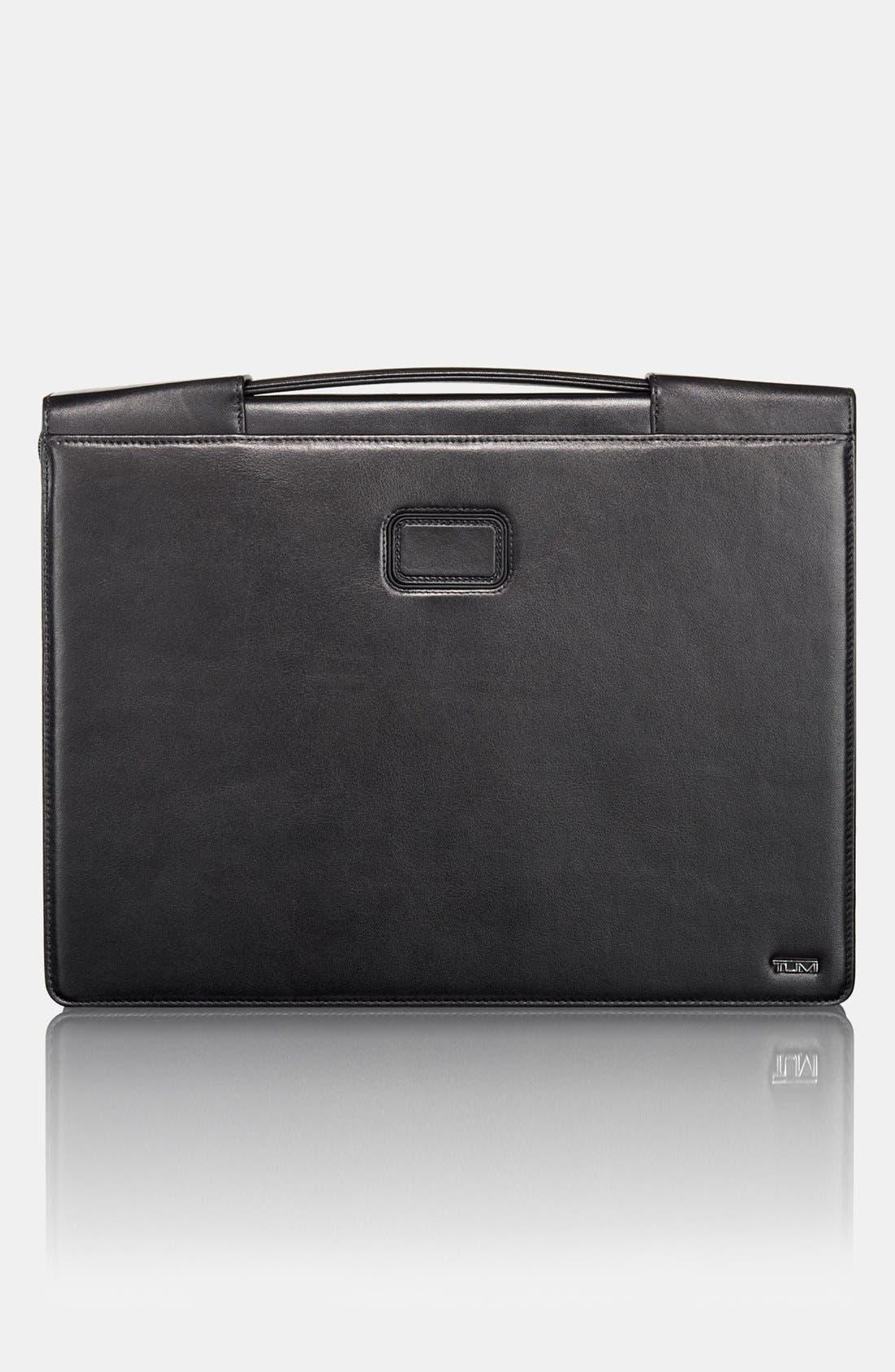 Alternate Image 1 Selected - Tumi Leather iPad Portfolio