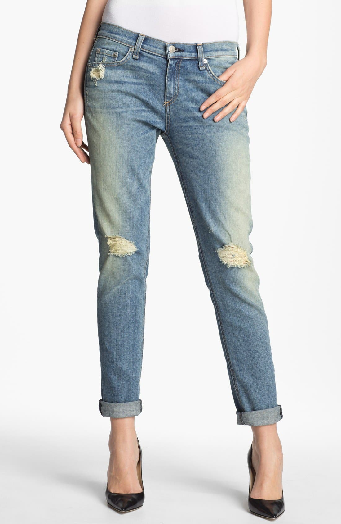 Alternate Image 1 Selected - rag & bone 'The Dash' Slouchy Fit Jeans