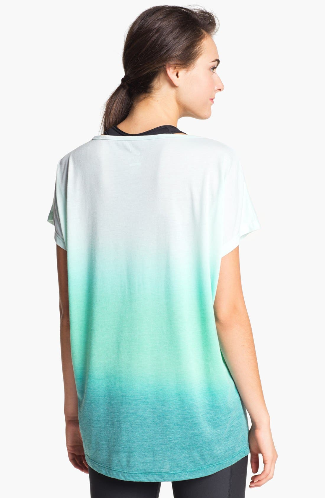 Alternate Image 2  - Nike Dip Dye Dri-FIT Tee