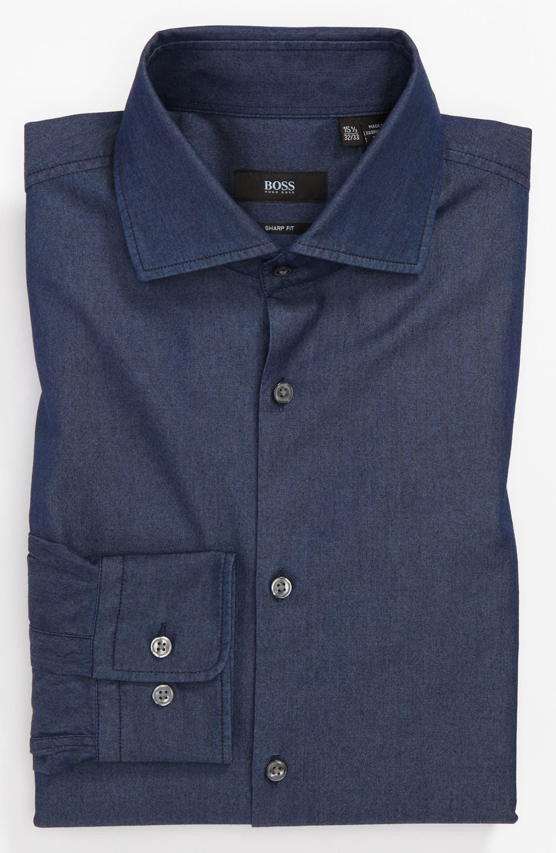 Alternate Image 1 Selected - BOSS HUGO BOSS Sharp Fit Dress Shirt