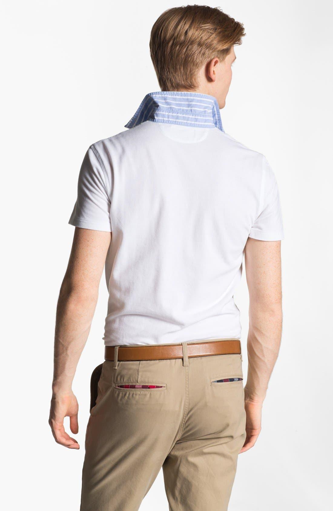 Alternate Image 2  - Polo Ralph Lauren Cotton Polo