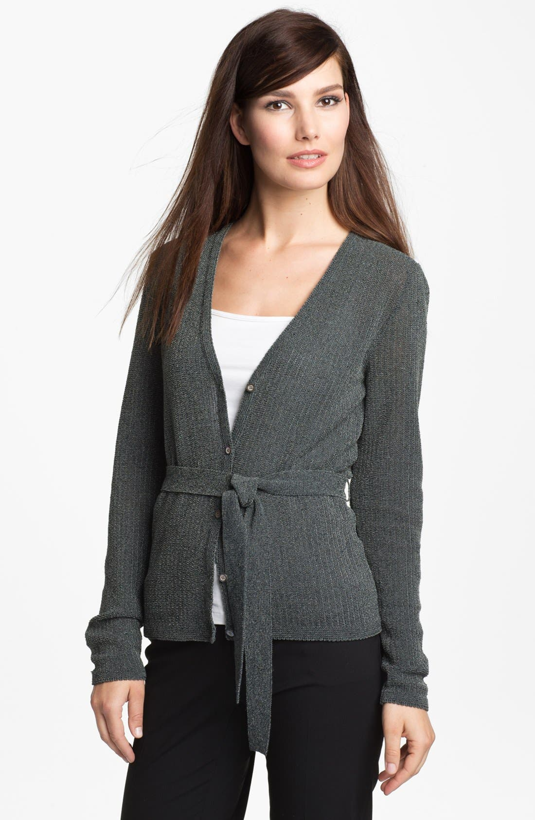 Alternate Image 1 Selected - Classiques Entier 'Anya' Belted Cardigan
