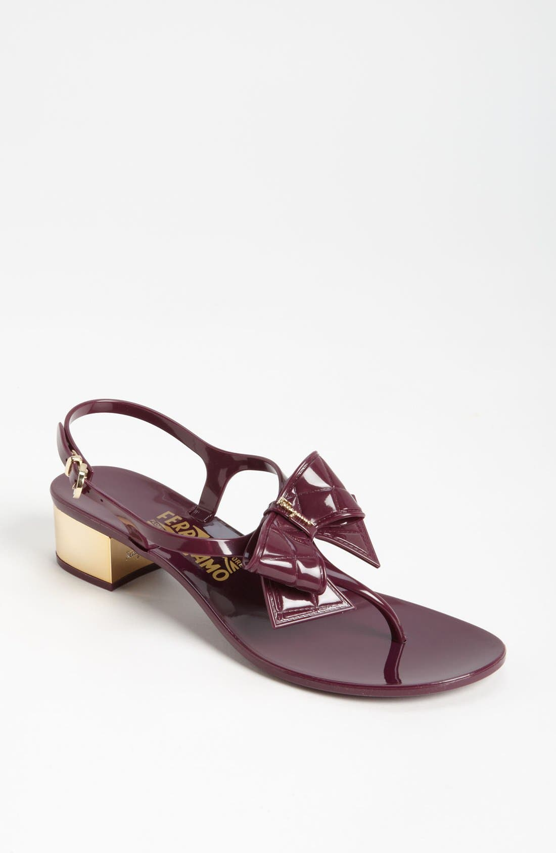Alternate Image 1 Selected - Salvatore Ferragamo 'Sunshine' Sandal