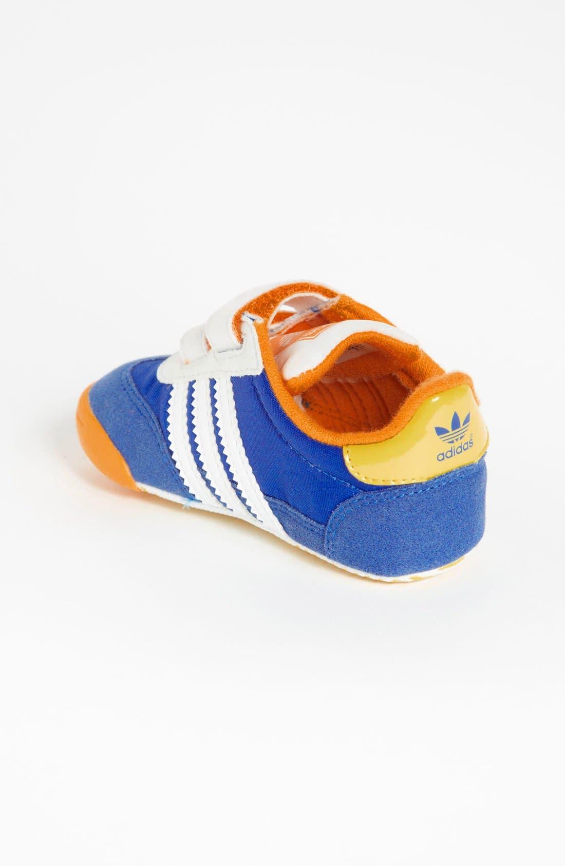 Alternate Image 2  - adidas 'Learn To Walk - Dragon' Crib Sneaker (Baby)