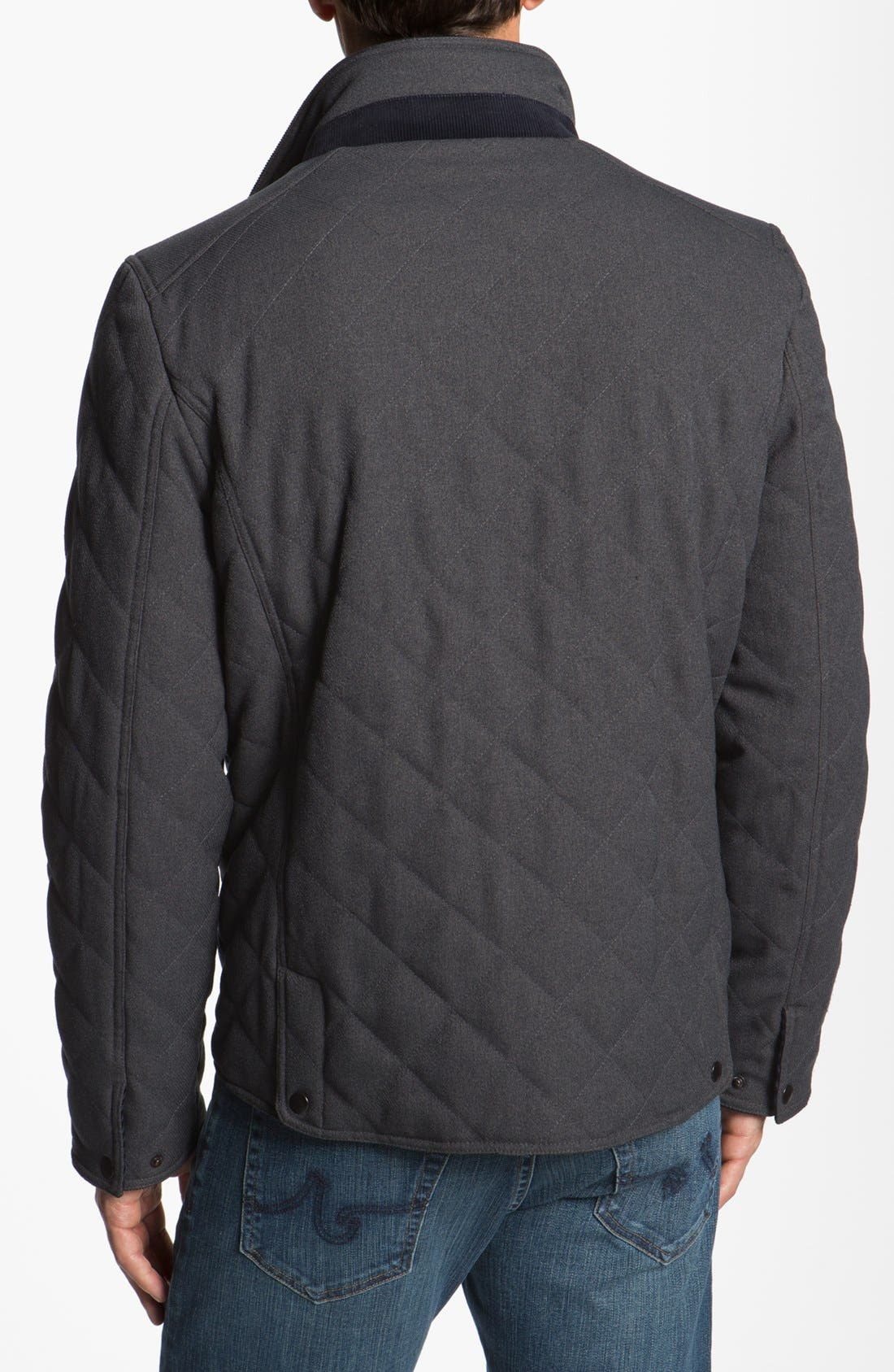 Alternate Image 2  - Kenneth Cole New York Quilted Jacket (Online Only)