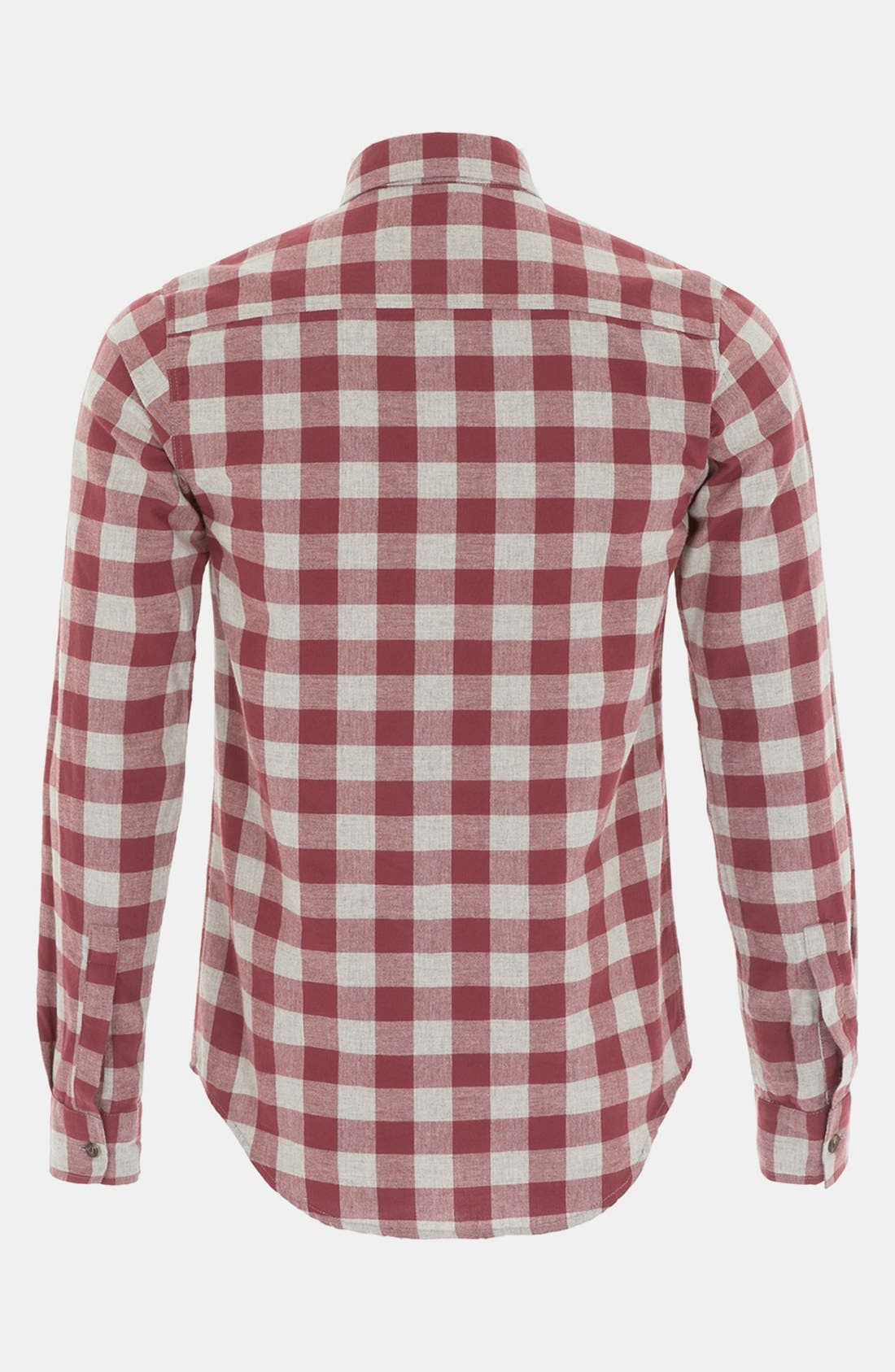 Alternate Image 2  - Topman Check Woven Shirt