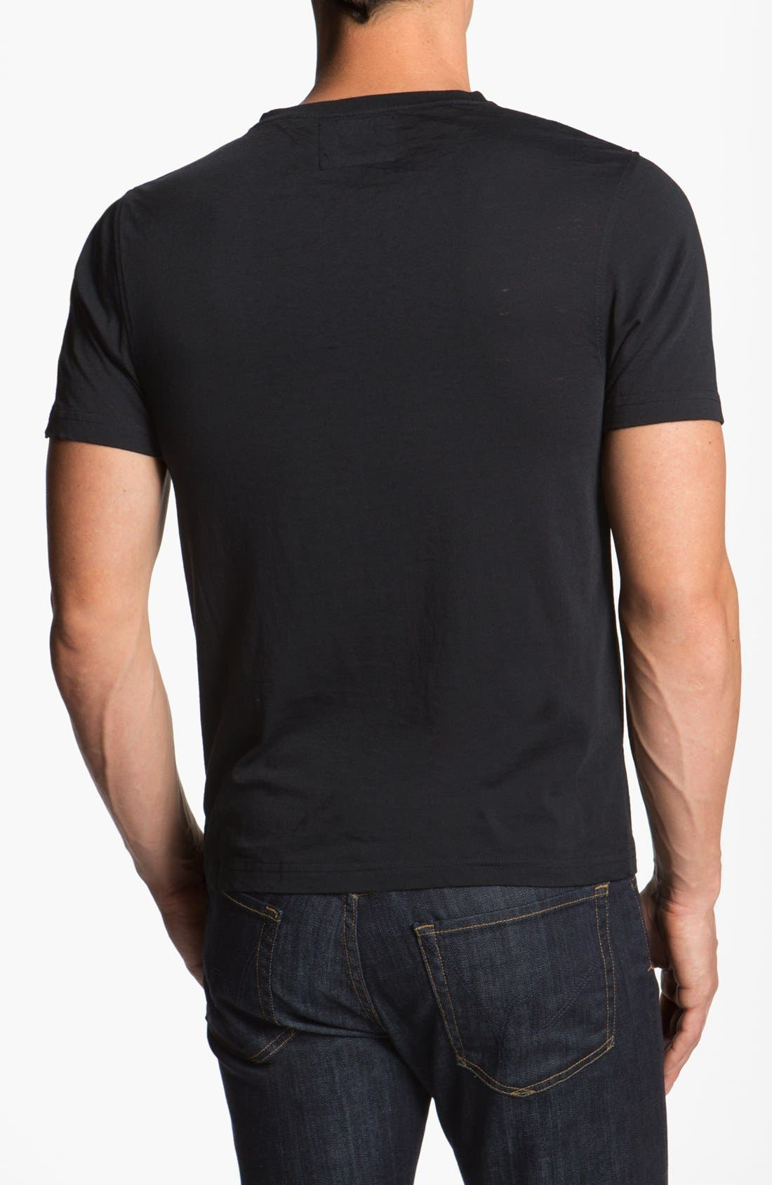 Alternate Image 2  - Red Jacket 'Giants - V-Wood' T-Shirt