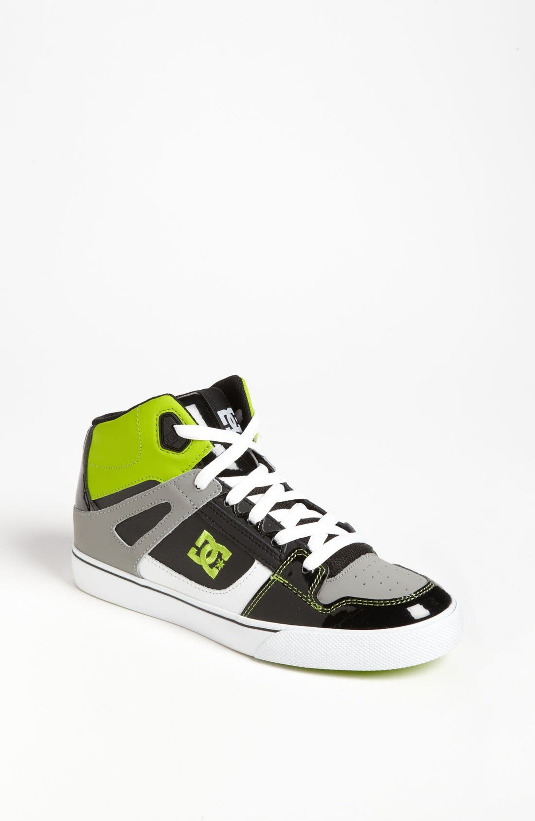 Alternate Image 1 Selected - DC Shoes 'Spartan - Hi' Skate Shoe (Little Kid & Big Kid)