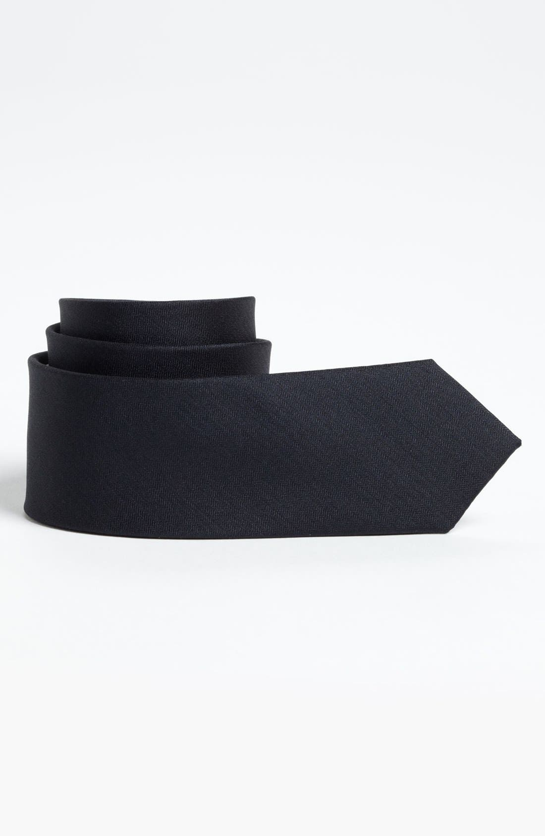 Main Image - BOSS Kidswear Woven Silk Tie (Little Boys)