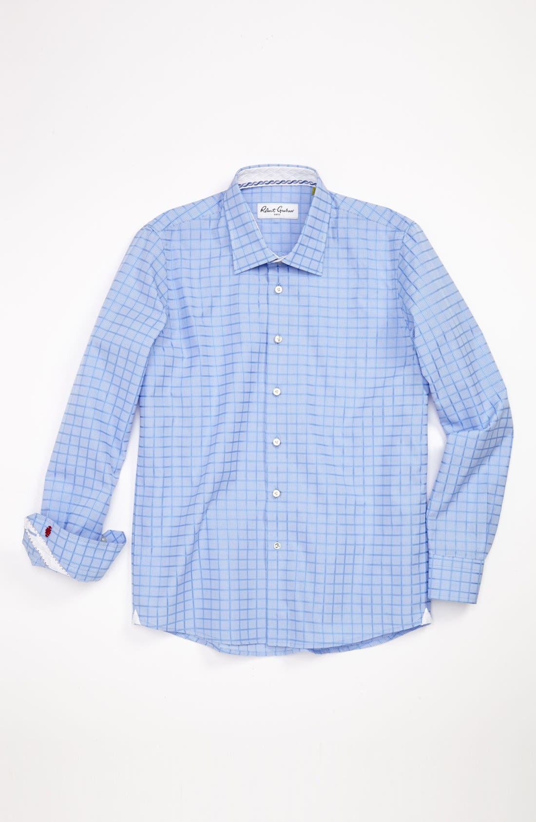 Alternate Image 1 Selected - Robert Graham Dress Shirt (Big Boys)