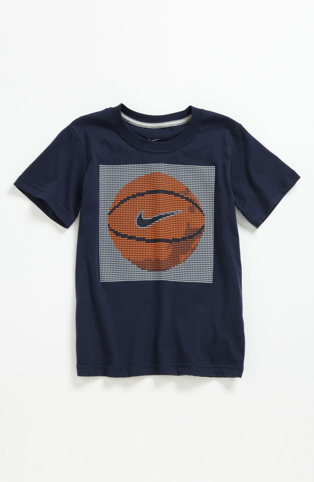 Alternate Image 1 Selected - Nike 'Basketball' T-Shirt (Little Boys)