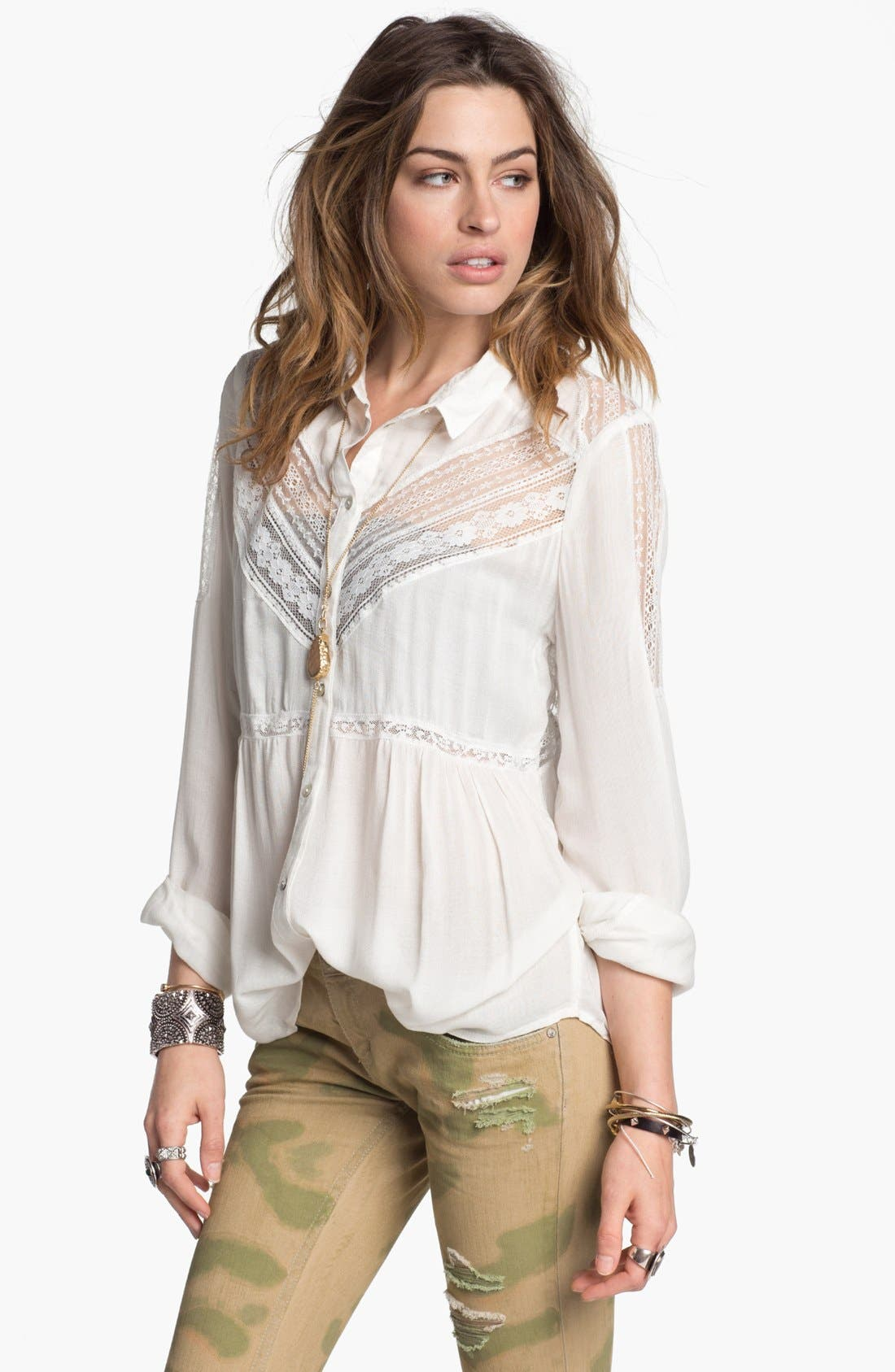 Alternate Image 1 Selected - Free People 'Wild Wind' Top