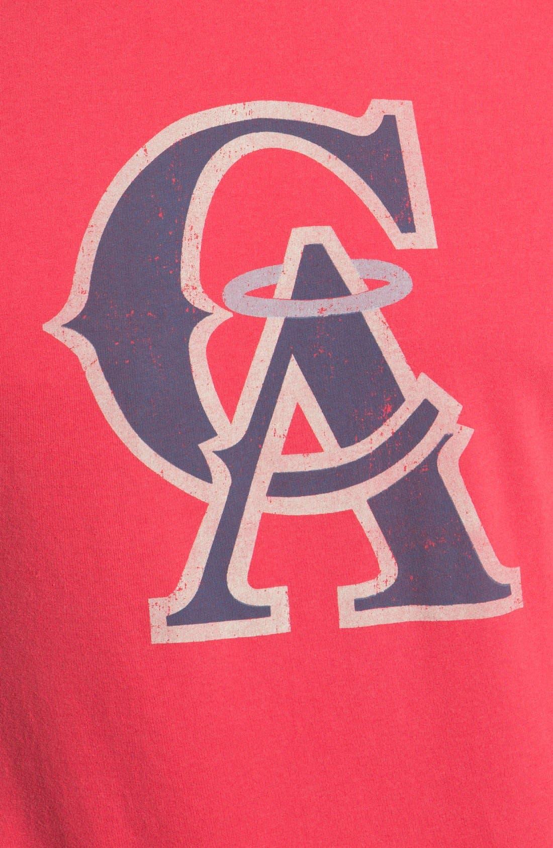 Alternate Image 3  - Red Jacket 'Los Angeles Angels - Brass Tack' T-Shirt