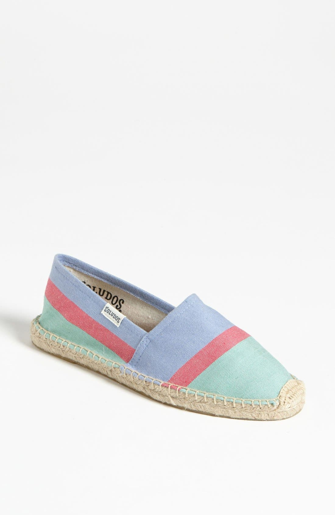 Alternate Image 1 Selected - Soludos Colorblock Slip-On (Women)