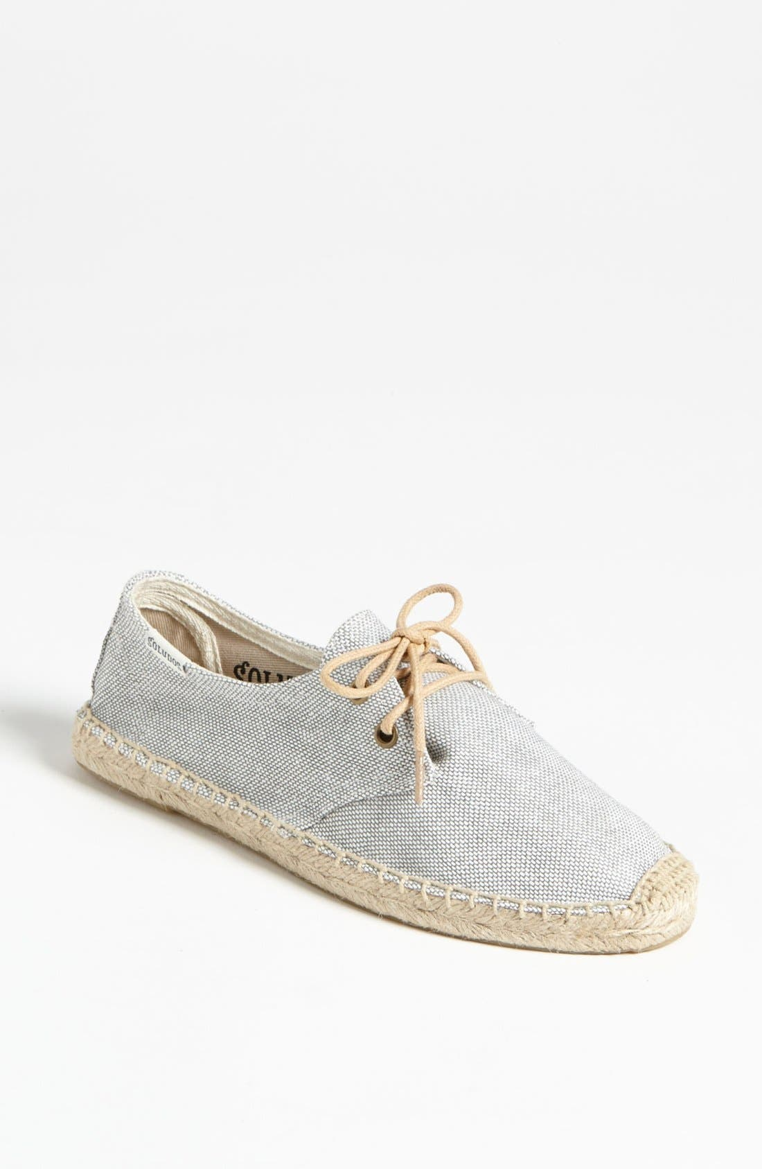 Alternate Image 1 Selected - Soludos 'Derby' Espadrille Sneaker (Women)