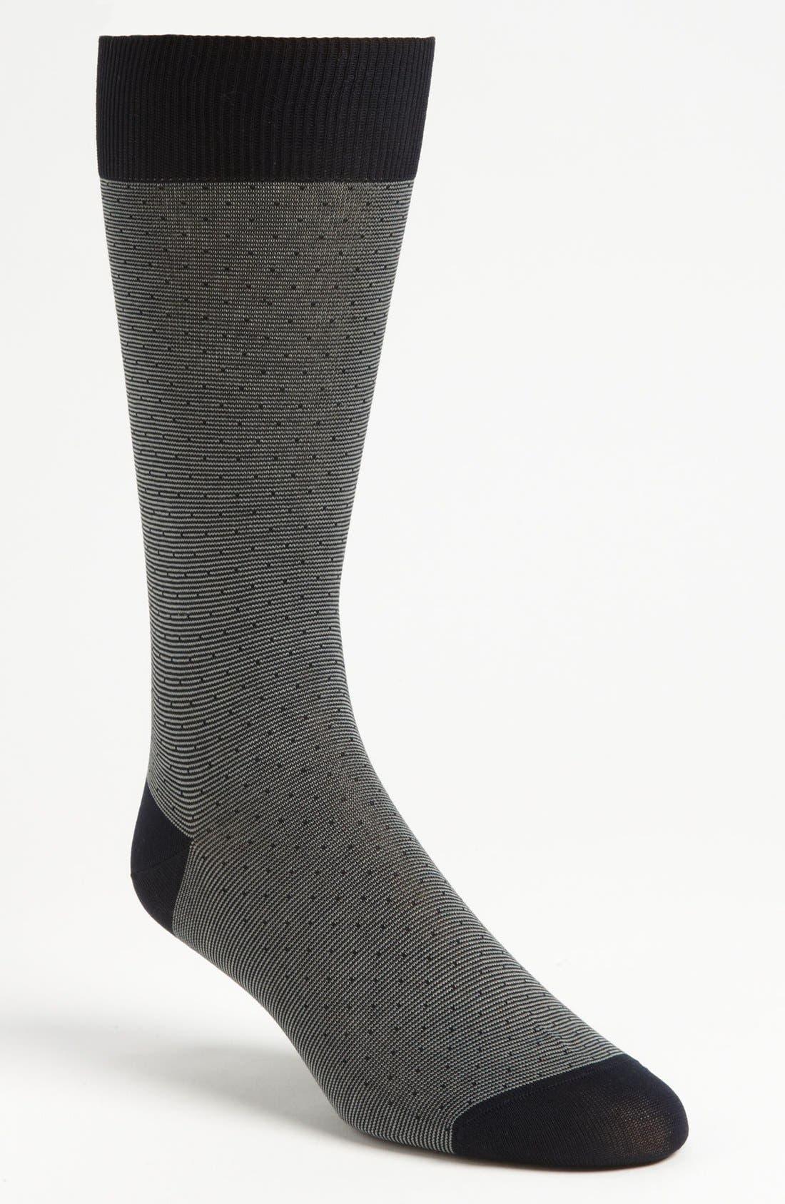 Alternate Image 1 Selected - Pantherella 'Mayfair' Stripe Socks