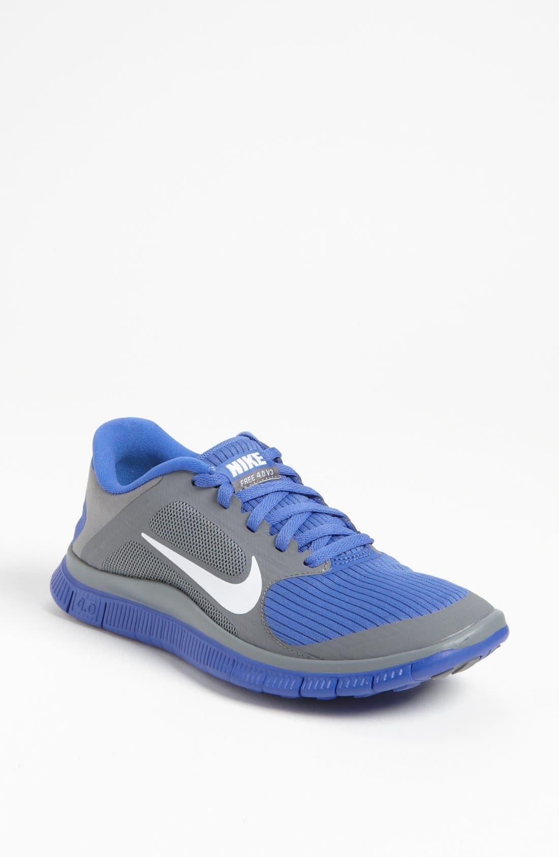 Alternate Image 1 Selected - Nike 'Free 4.0 v3' Running Shoe (Women)
