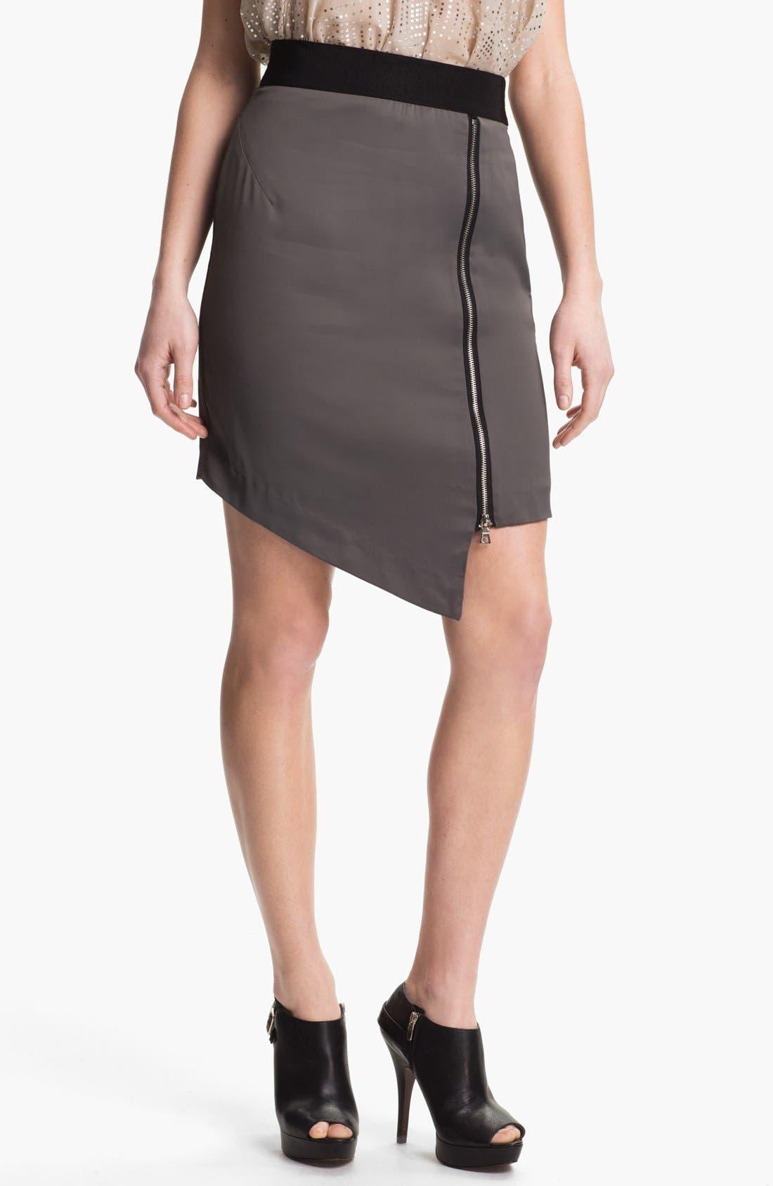 Main Image - Milly 'Barcelona' Zip Skirt