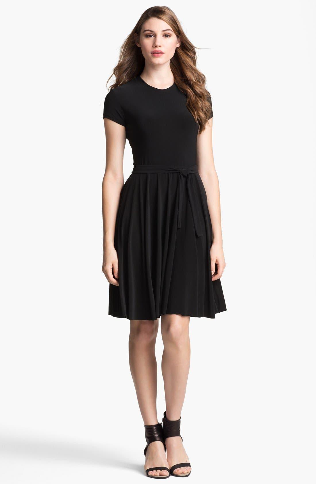 Alternate Image 3  - KAMALIKULTURE Jersey Fit & Flare Dress