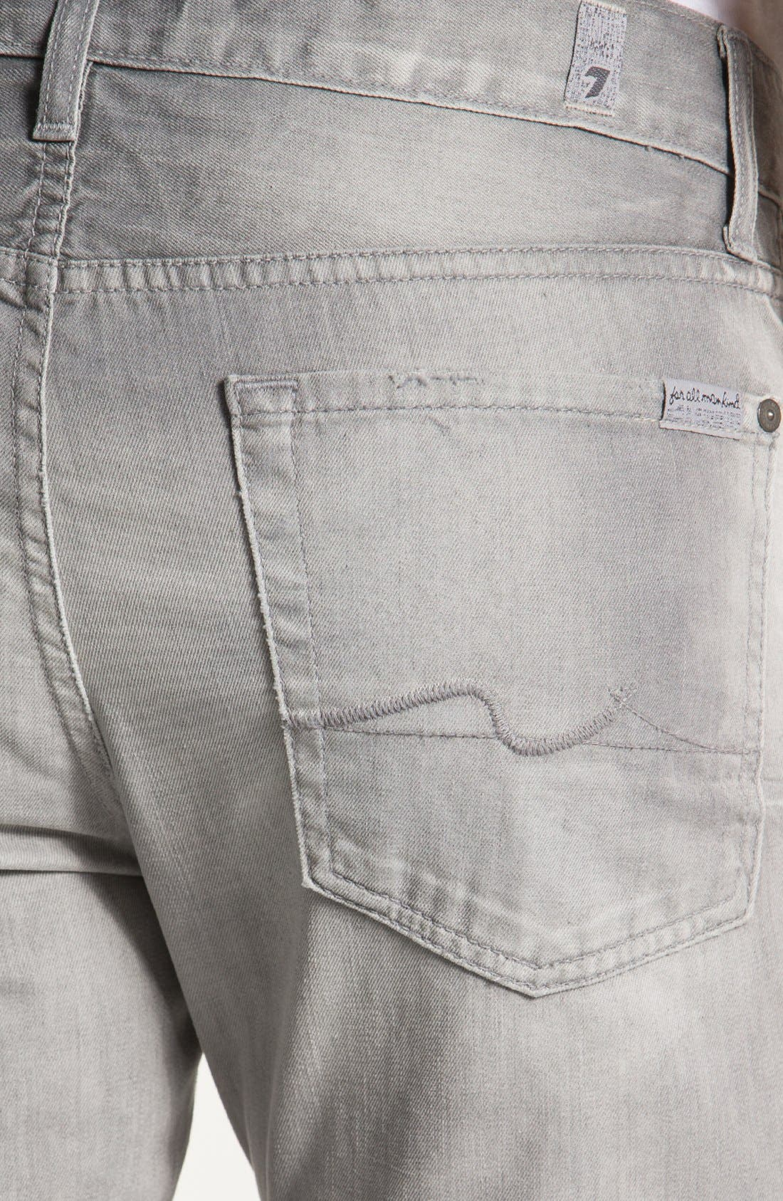 Alternate Image 4  - 7 For All Mankind 'Slimmy' Slim Fit Jeans (Cottage Grove)