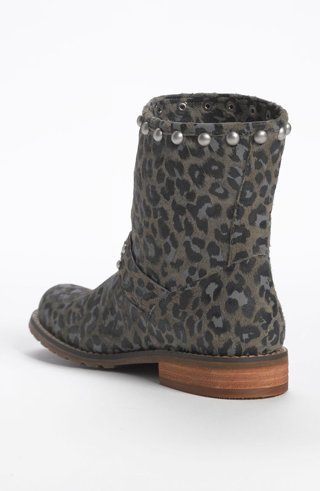 Alternate Image 2  - Nordstrom 'Dakota' Short Suede Stud Boot (Little Kid & Big Kid)