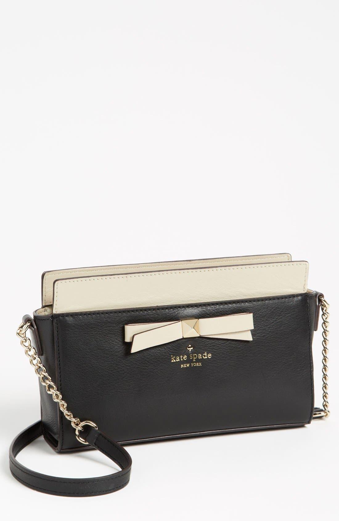 Main Image - kate spade new york 'hancock park - angelica' leather shoulder bag, small