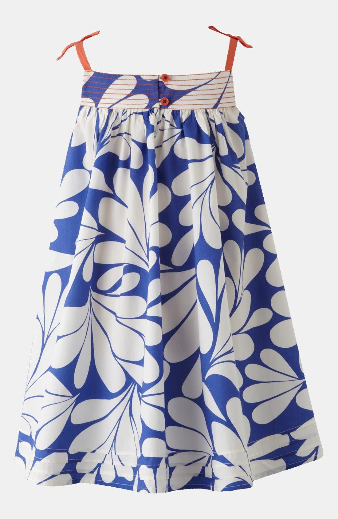 Alternate Image 3  - Mini Boden Print Holiday Dress (Toddler)