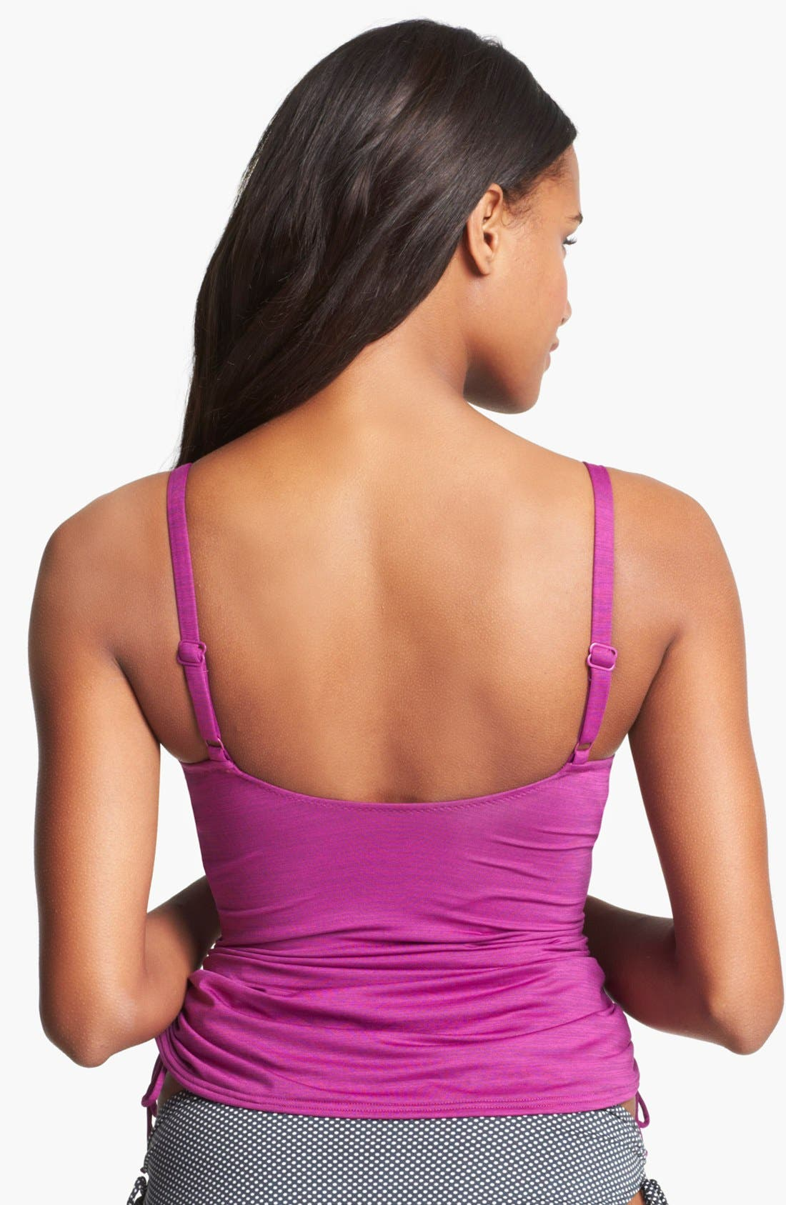 Alternate Image 2  - Fantasie Twist Front Tankini (D Cup & Up)
