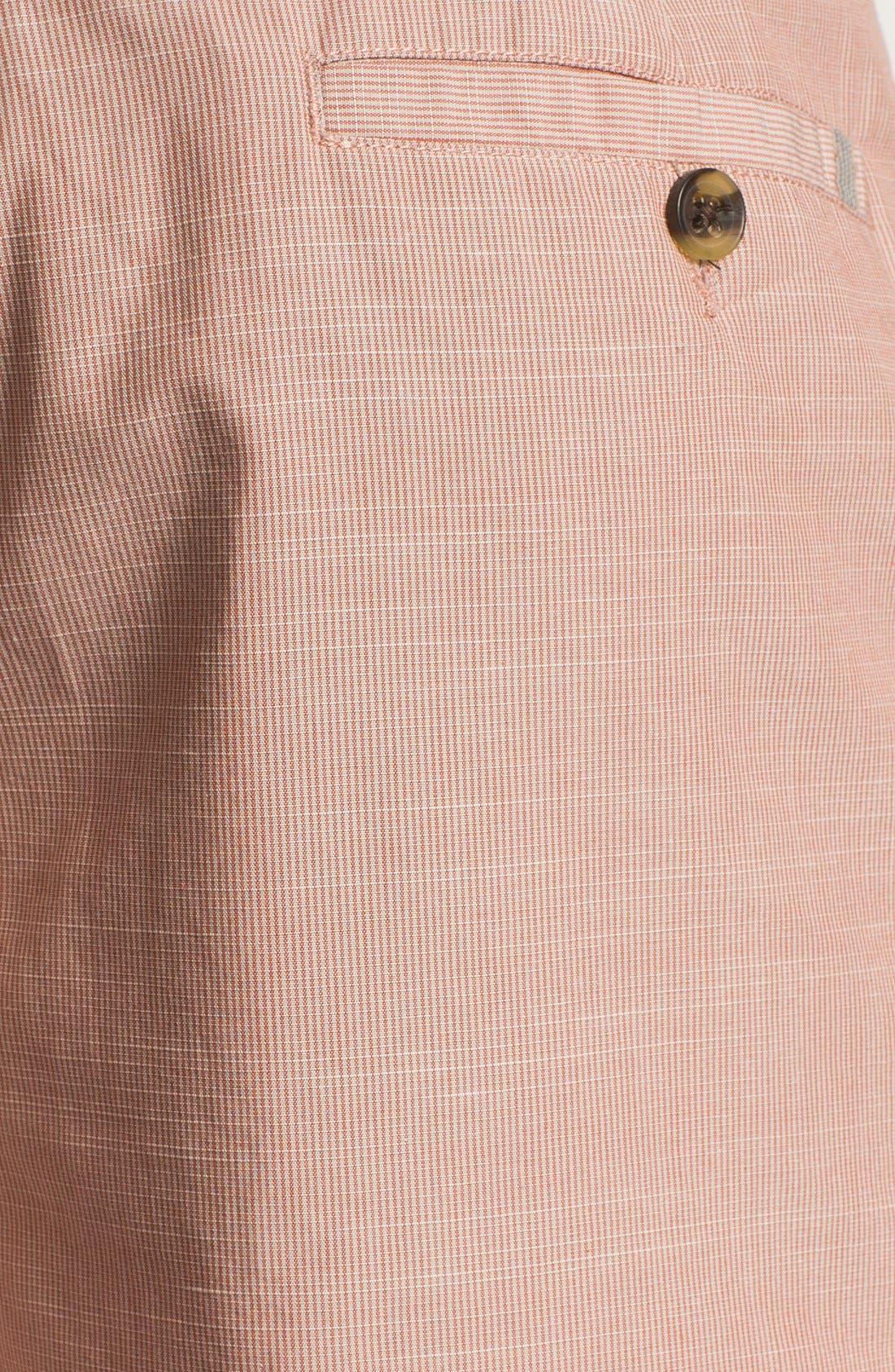 Alternate Image 3  - Wallin & Bros. 'Lanspur' Flat Front Shorts