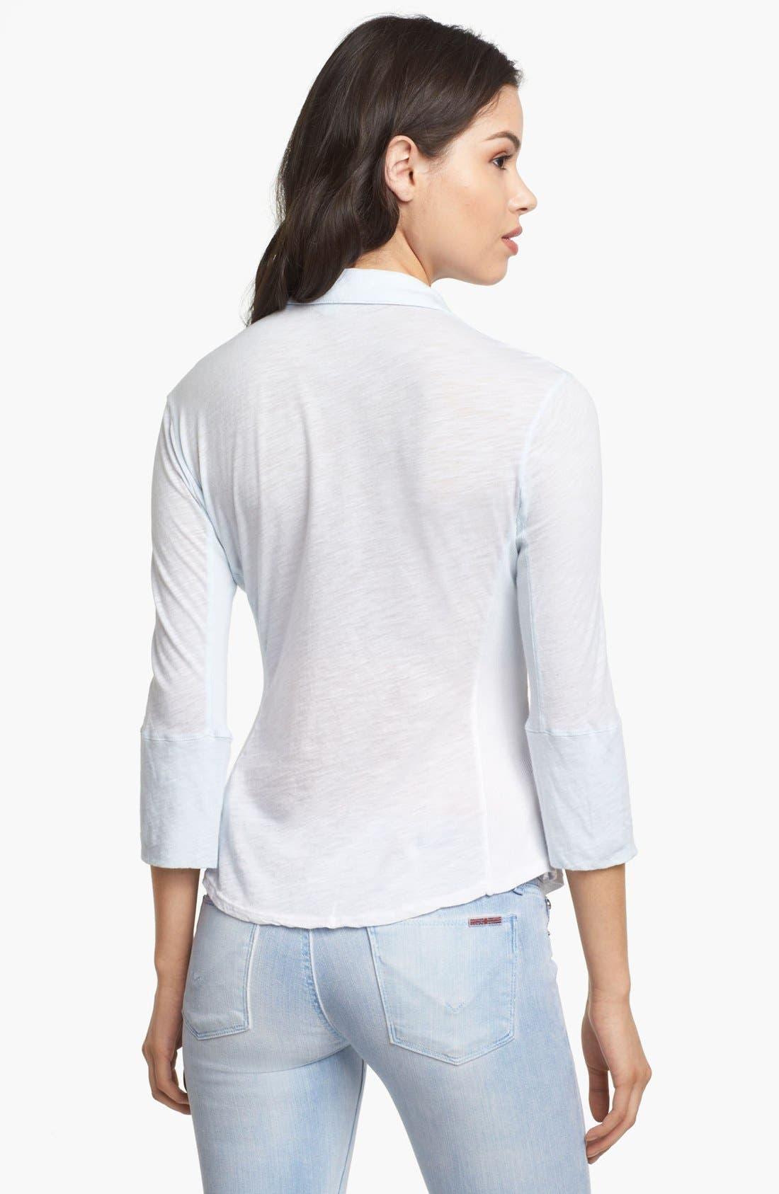 Alternate Image 2  - James Perse Pocket Shirt