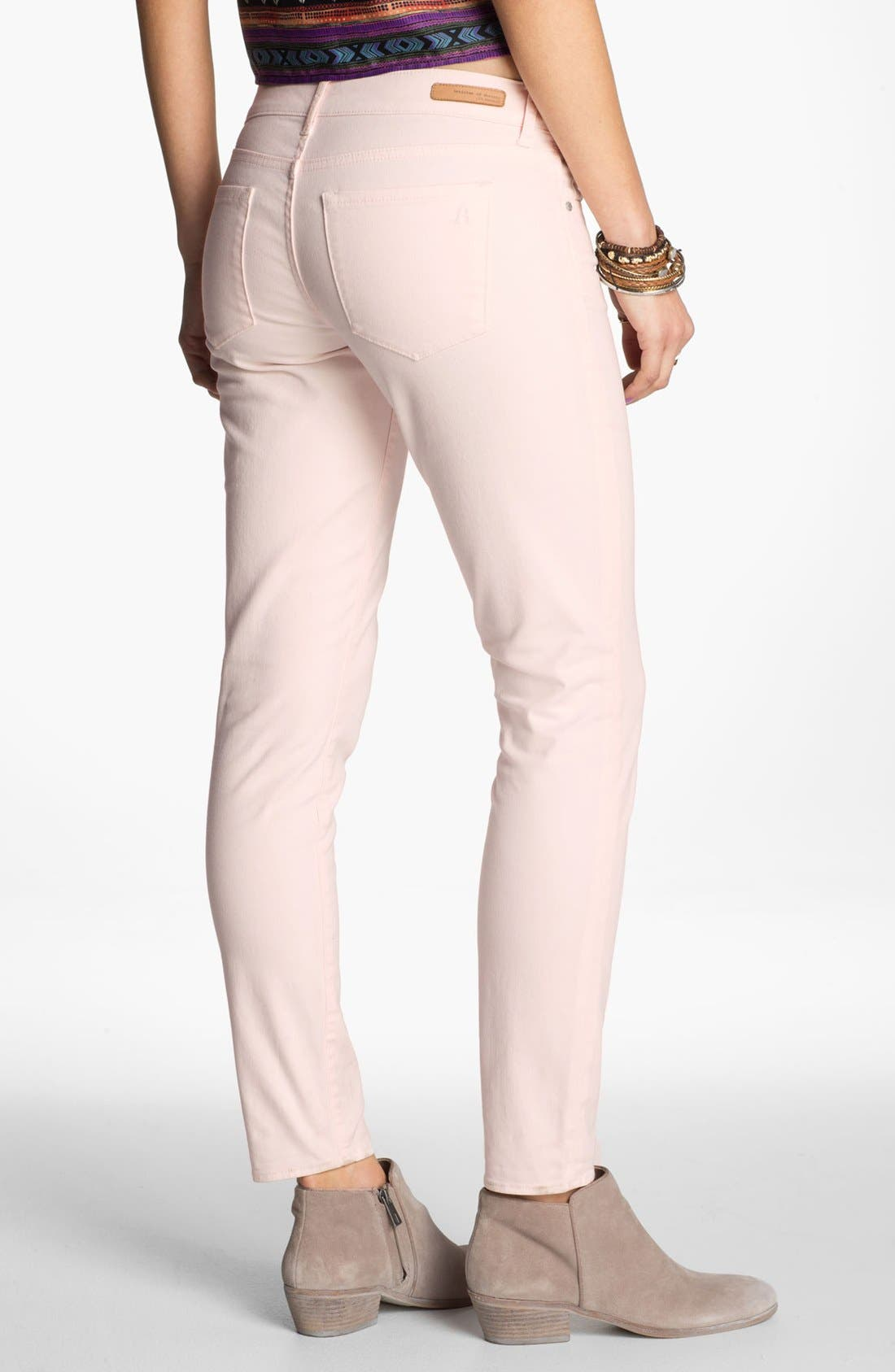 Alternate Image 2  - Articles of Society 'Olivia' Skinny Pants (Juniors)