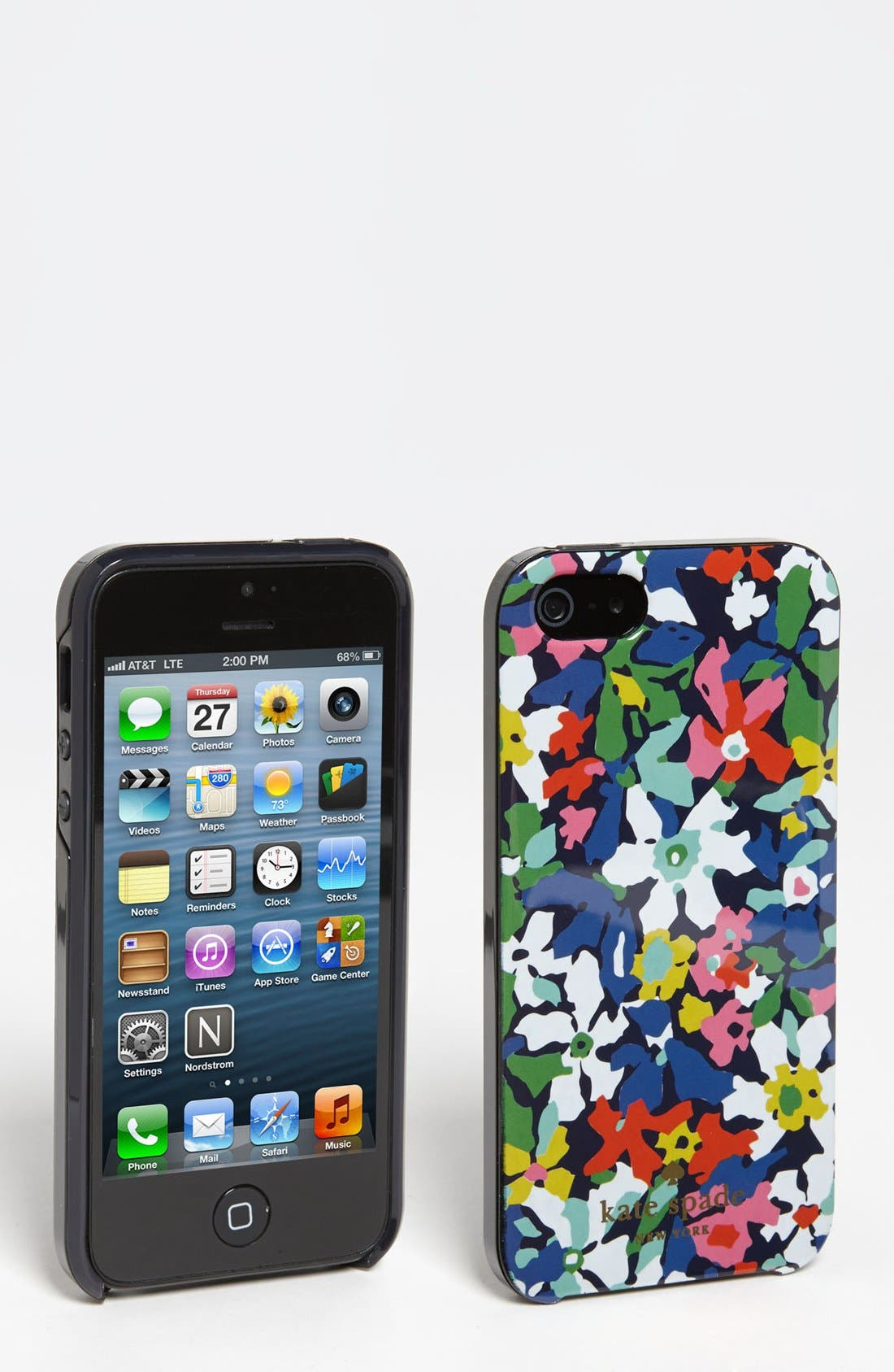 Alternate Image 1 Selected - kate spade new york 'margherita' floral iPhone 5 & 5S case