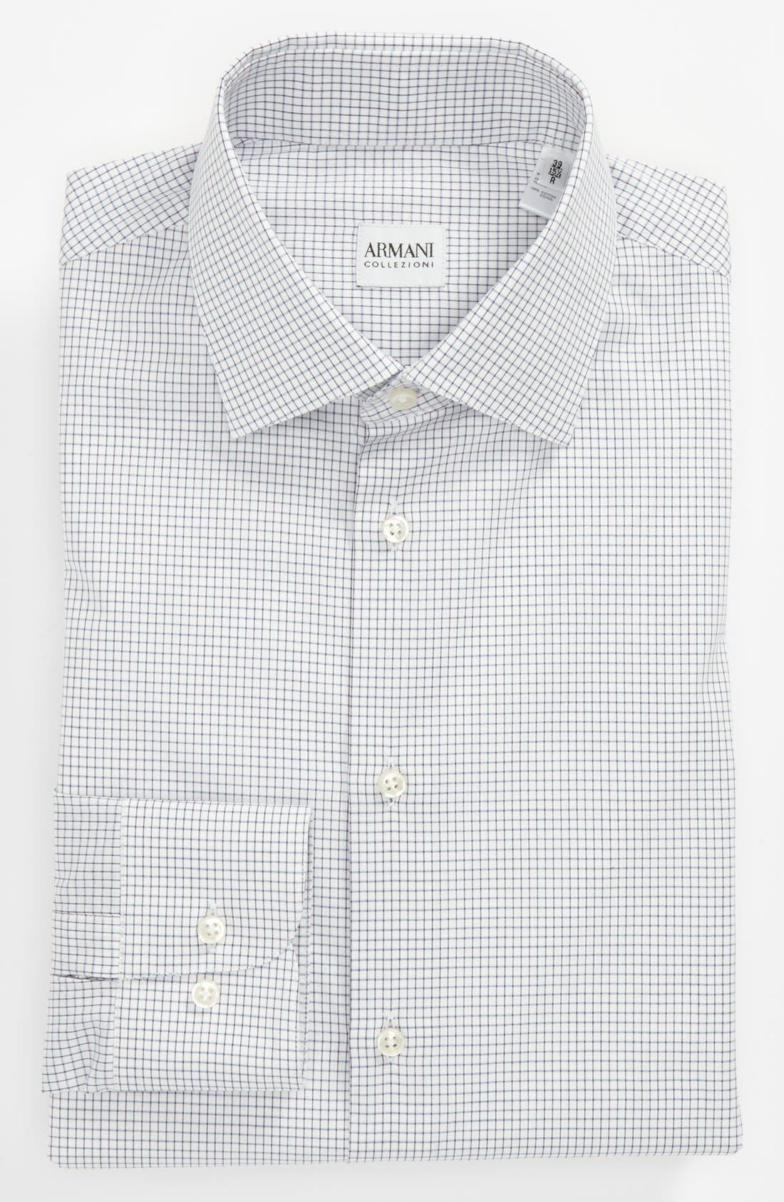 Main Image - Armani Collezioni Modern Fit Dress Shirt