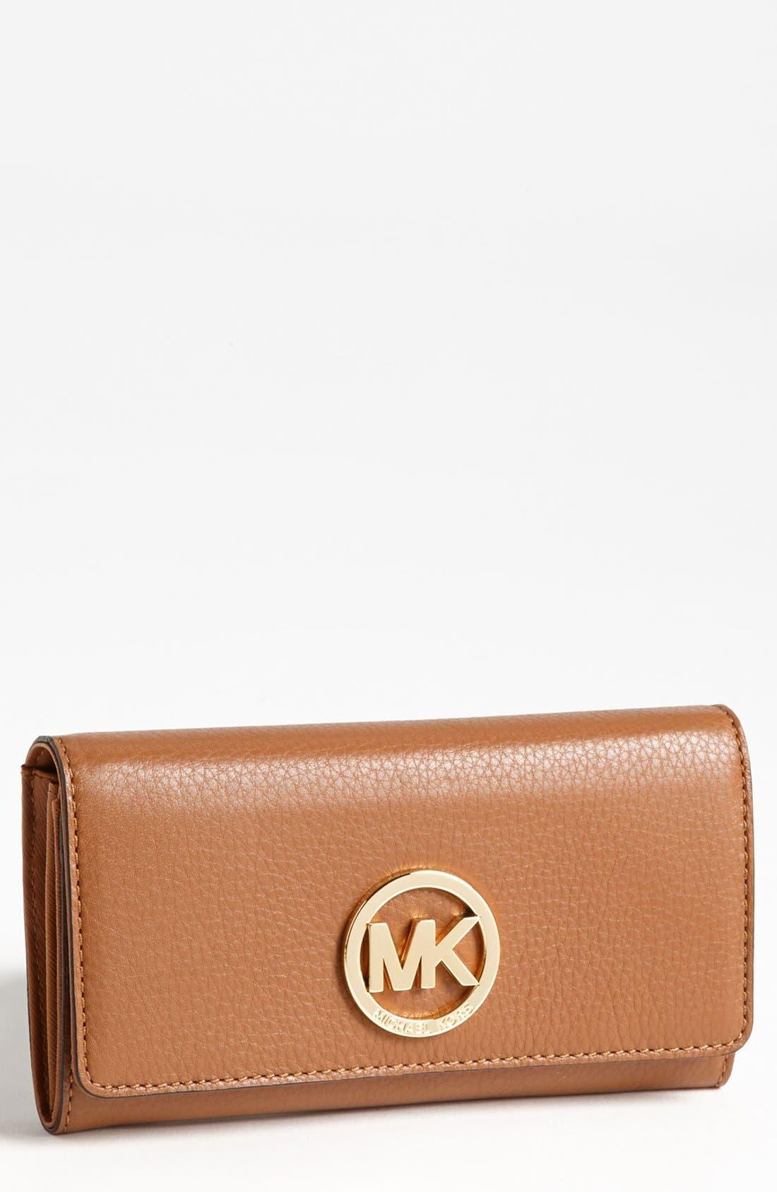 Alternate Image 1 Selected - MICHAEL Michael Kors 'Fulton' Carryall Wallet